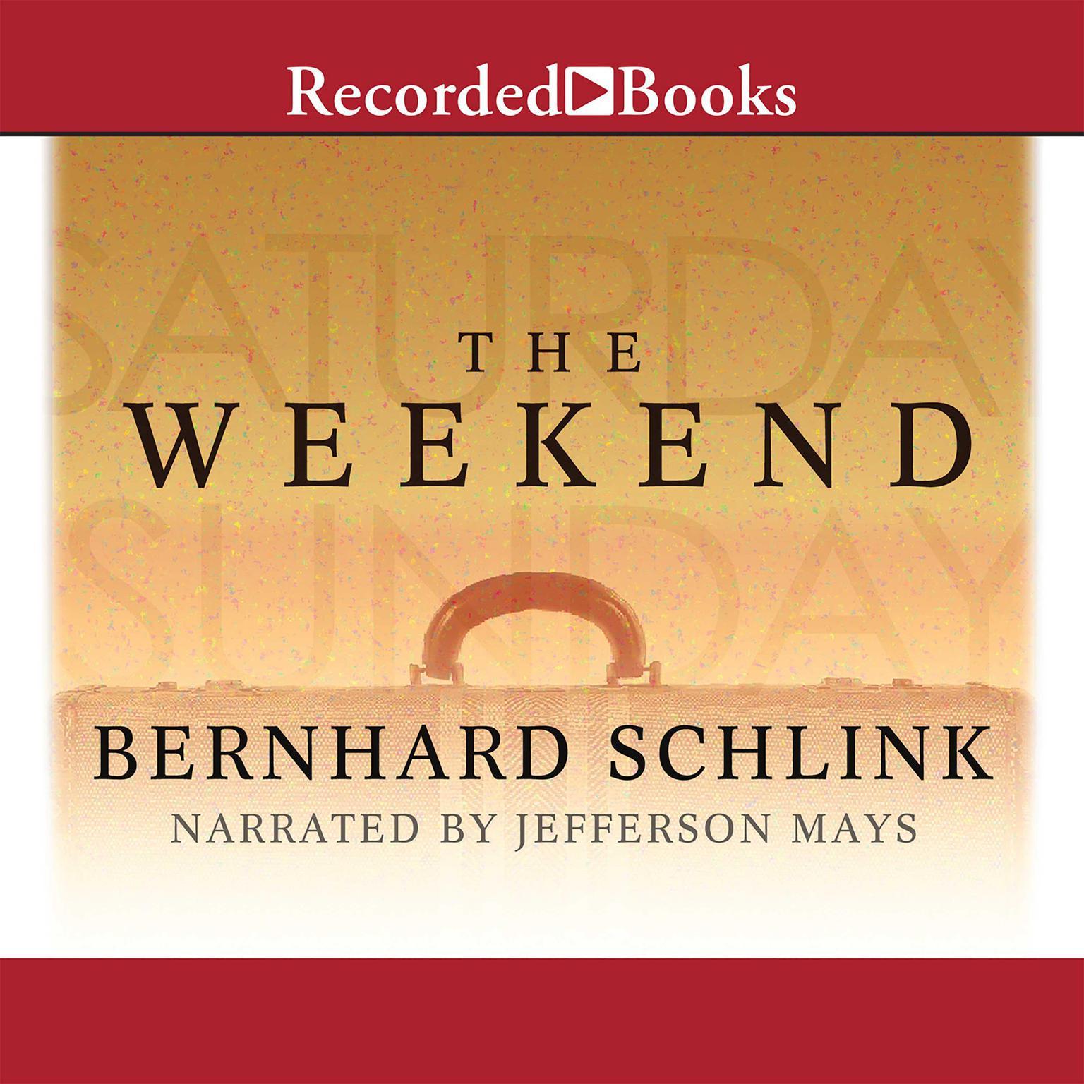 Printable The Weekend Audiobook Cover Art