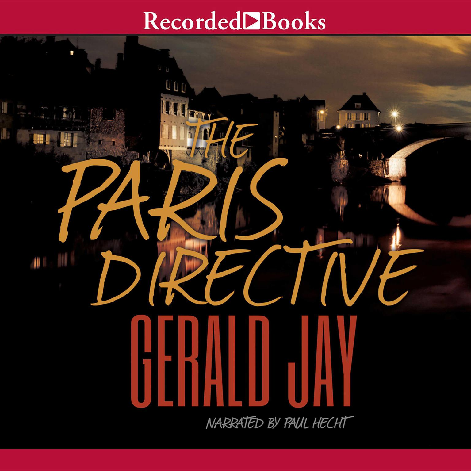 Printable The Paris Directive Audiobook Cover Art
