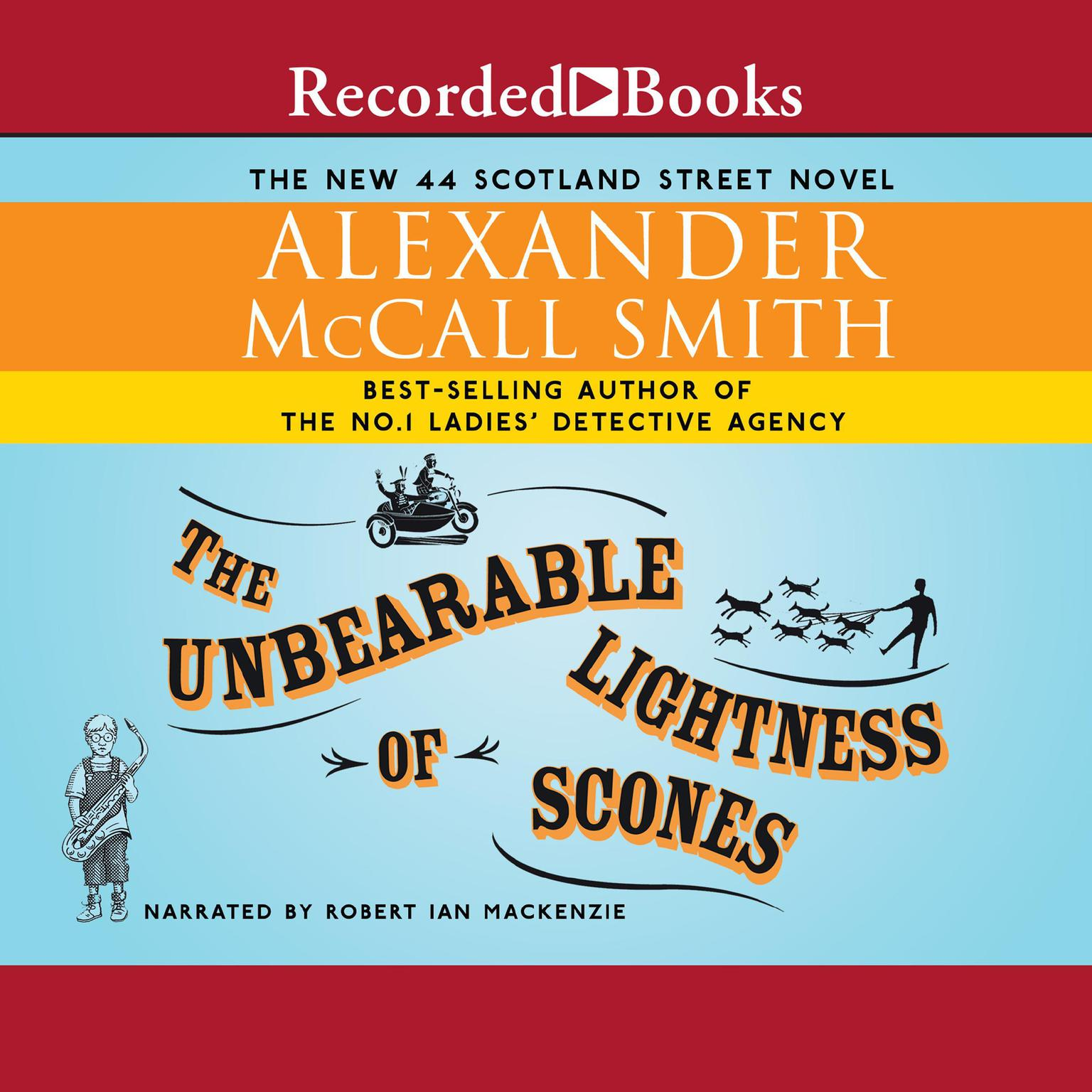 Printable The Unbearable Lightness of Scones Audiobook Cover Art