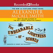 The Unbearable Lightness of Scones, by Alexander McCall Smith