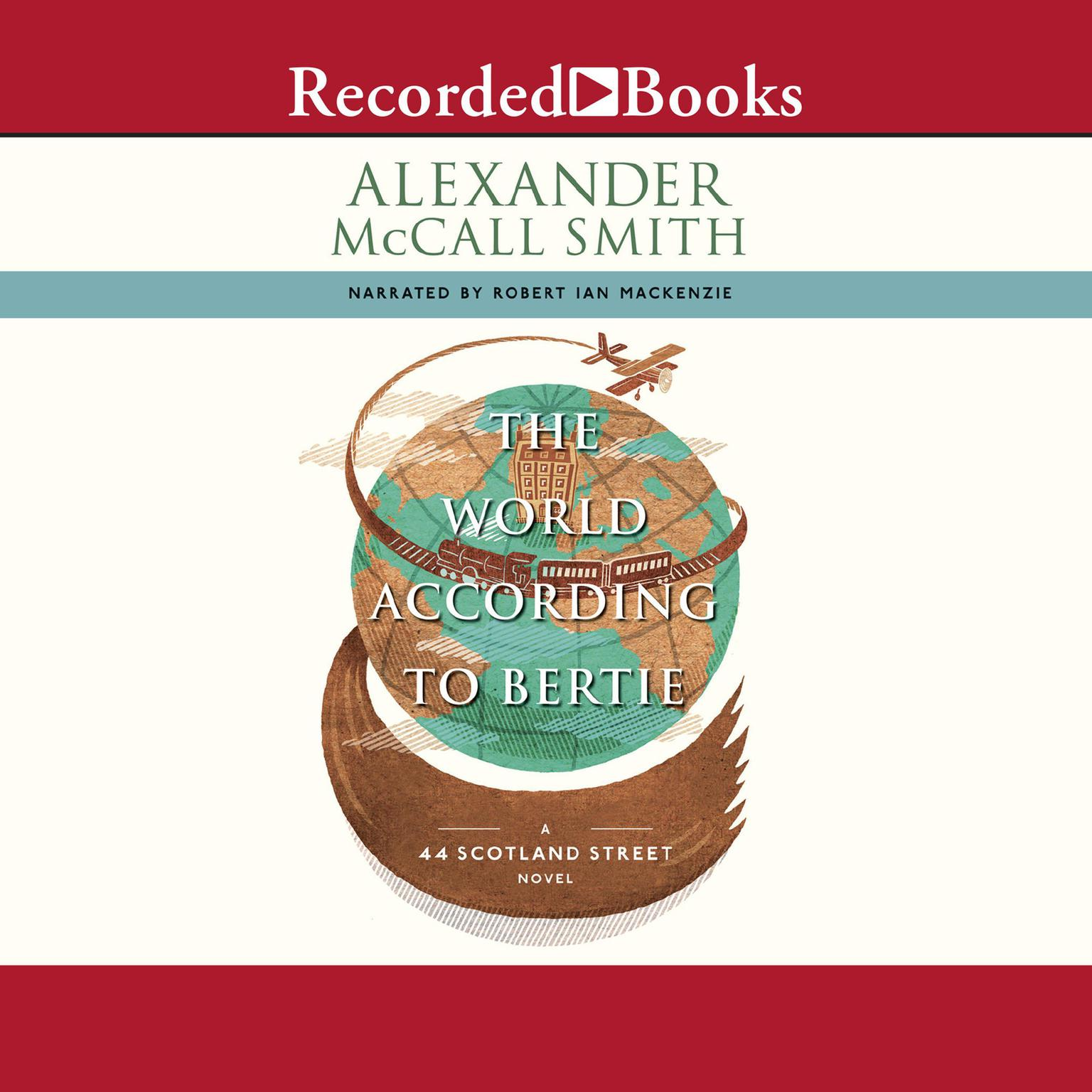 Printable The World according to Bertie Audiobook Cover Art
