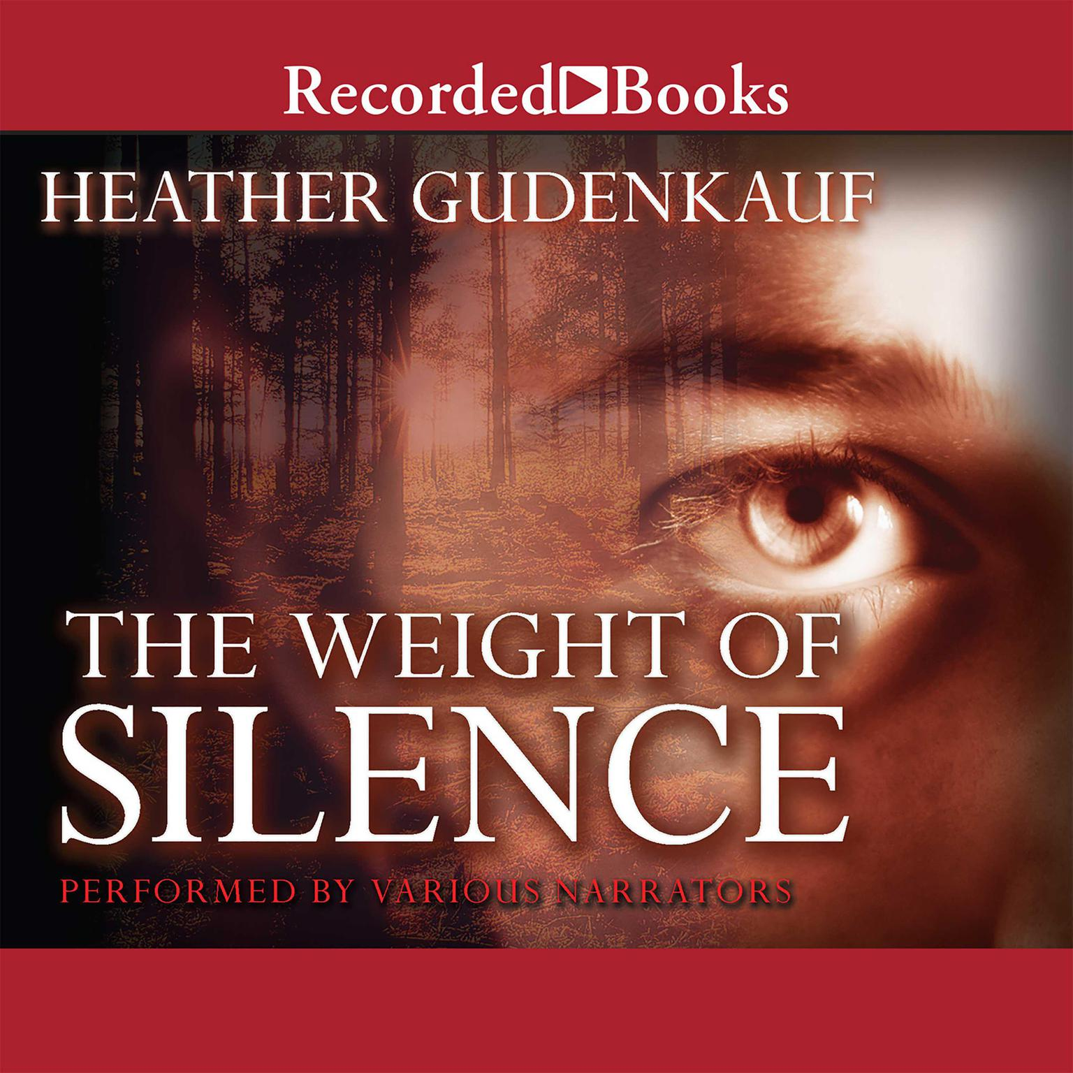 Printable The Weight of Silence Audiobook Cover Art