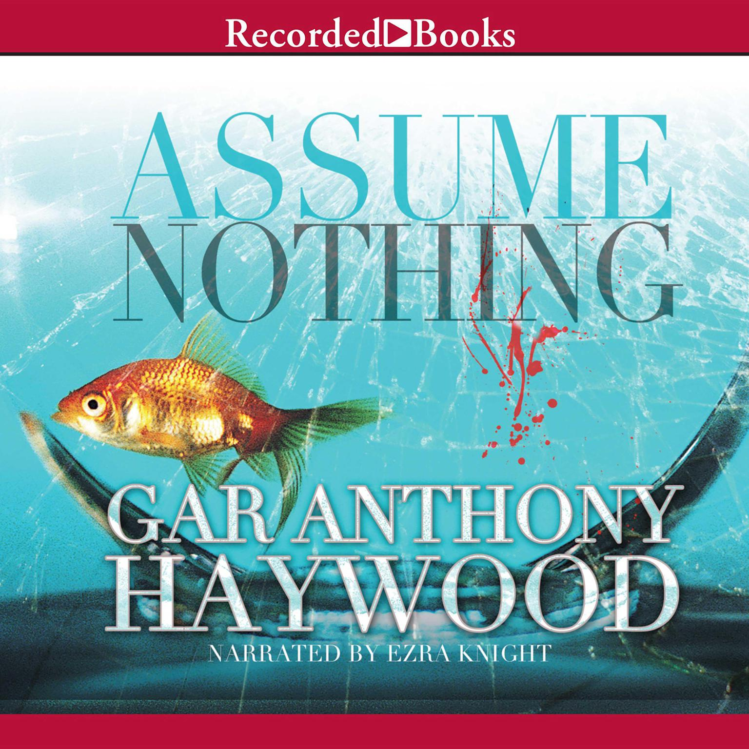 Printable Assume Nothing Audiobook Cover Art