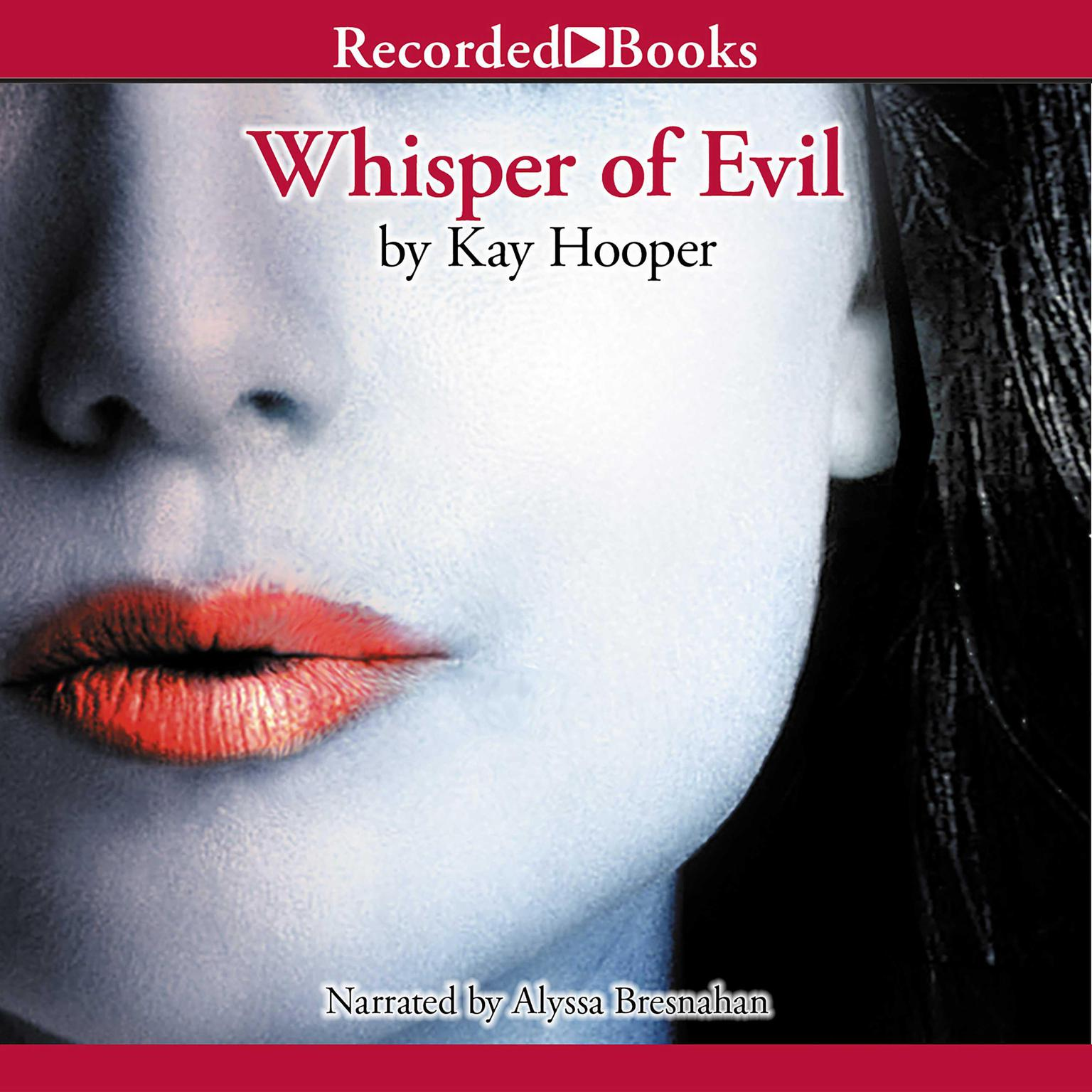 Printable Whisper of Evil Audiobook Cover Art