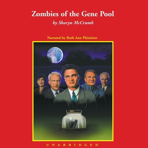 Printable Zombies of the Gene Pool Audiobook Cover Art