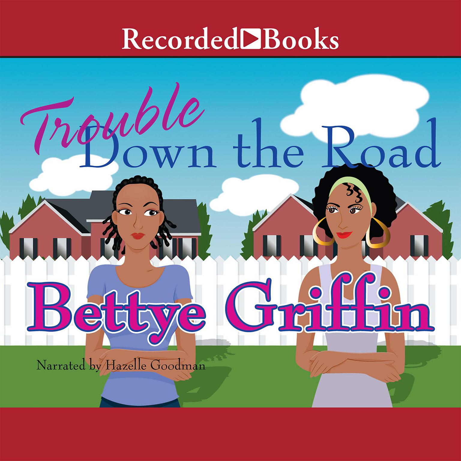 Printable Trouble Down the Road Audiobook Cover Art