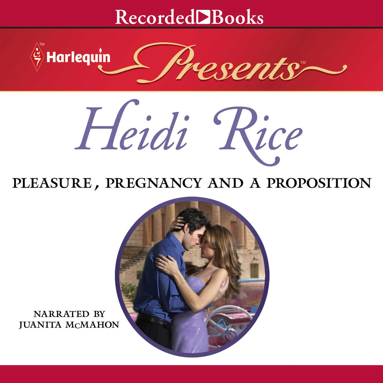 Printable Pleasure, Pregnancy, and a Proposition Audiobook Cover Art