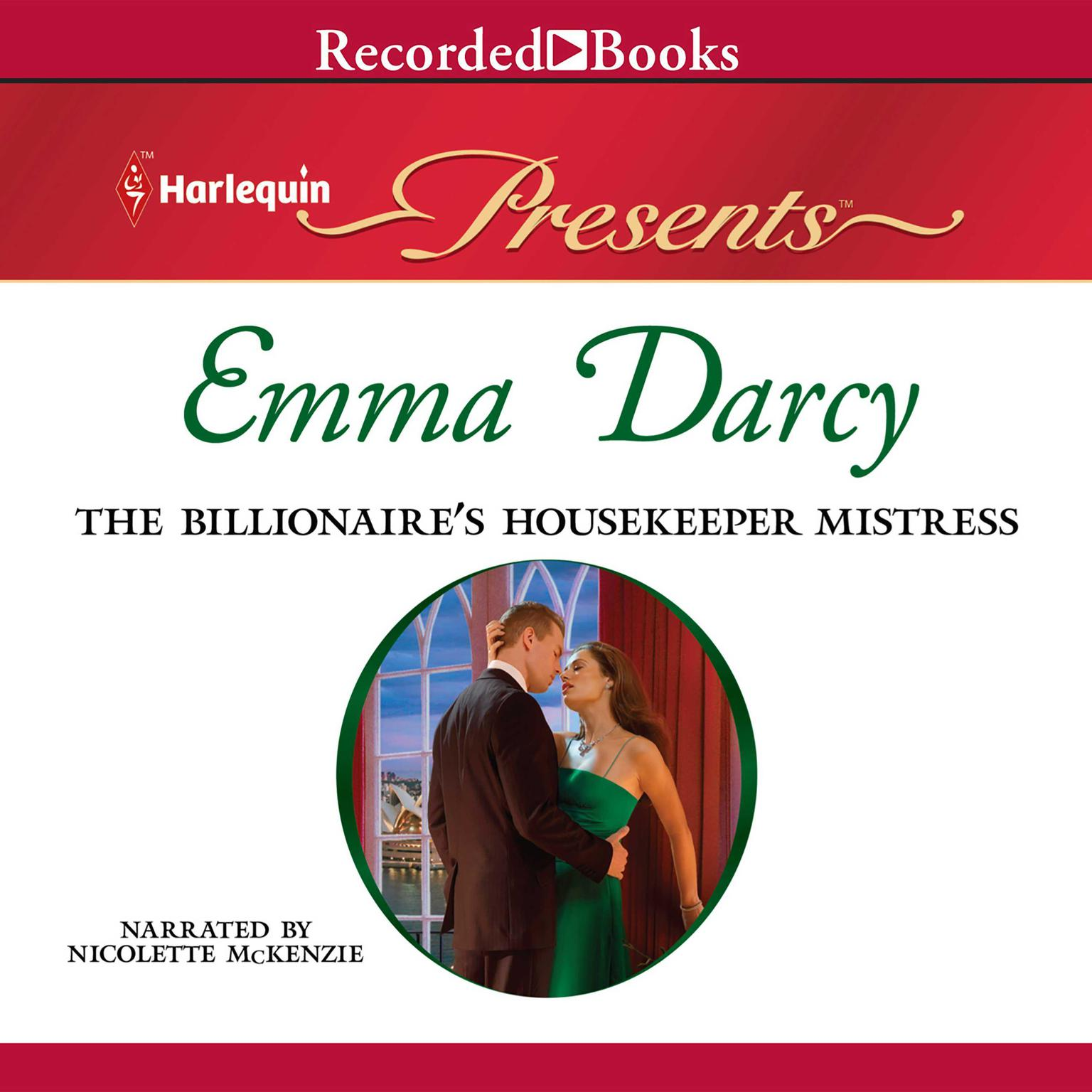 Printable The Billionaire's Housekeeper Mistress Audiobook Cover Art