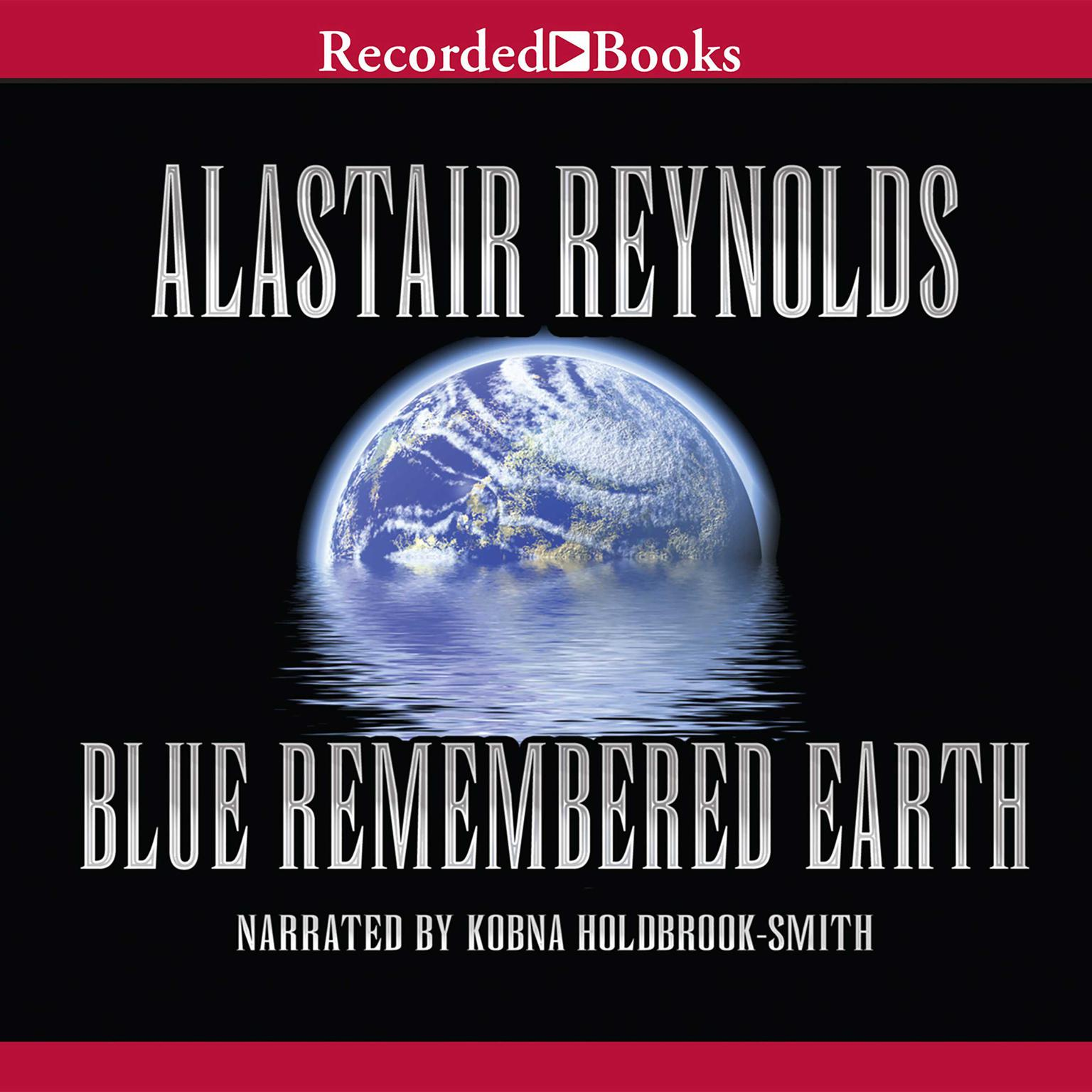 Printable Blue Remembered Earth Audiobook Cover Art