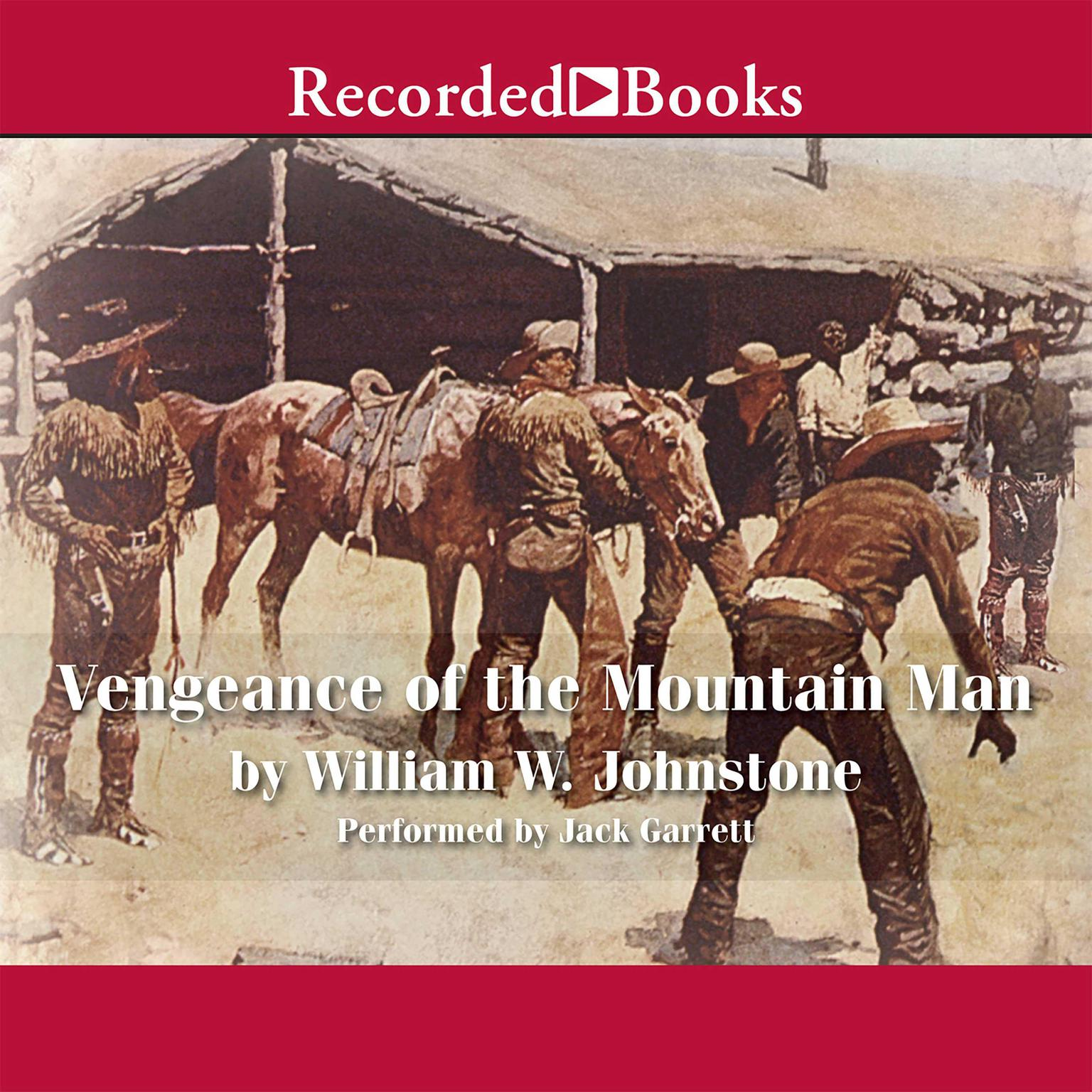 Printable Vengeance of the Mountain Man Audiobook Cover Art
