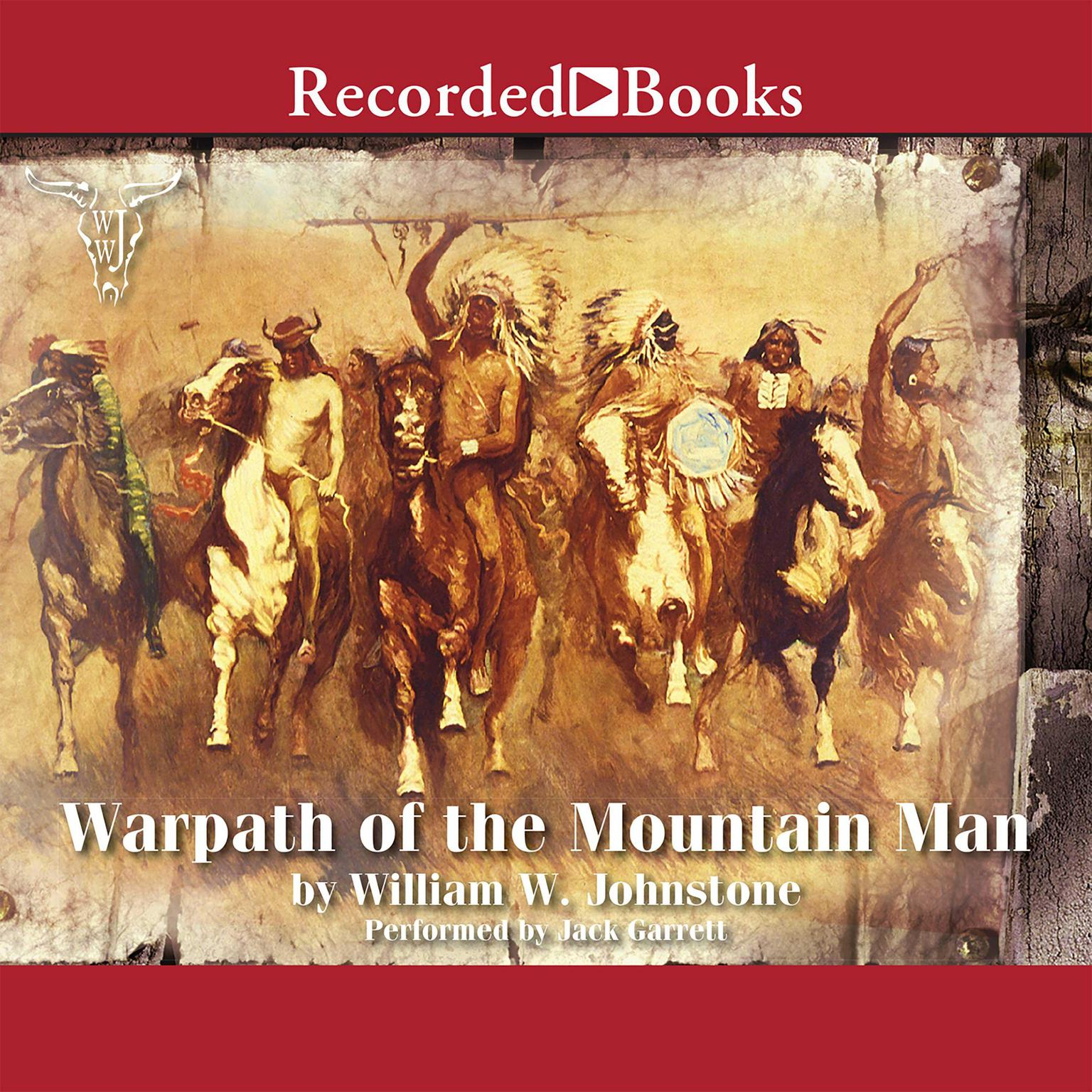Printable Warpath of the Mountain Man Audiobook Cover Art