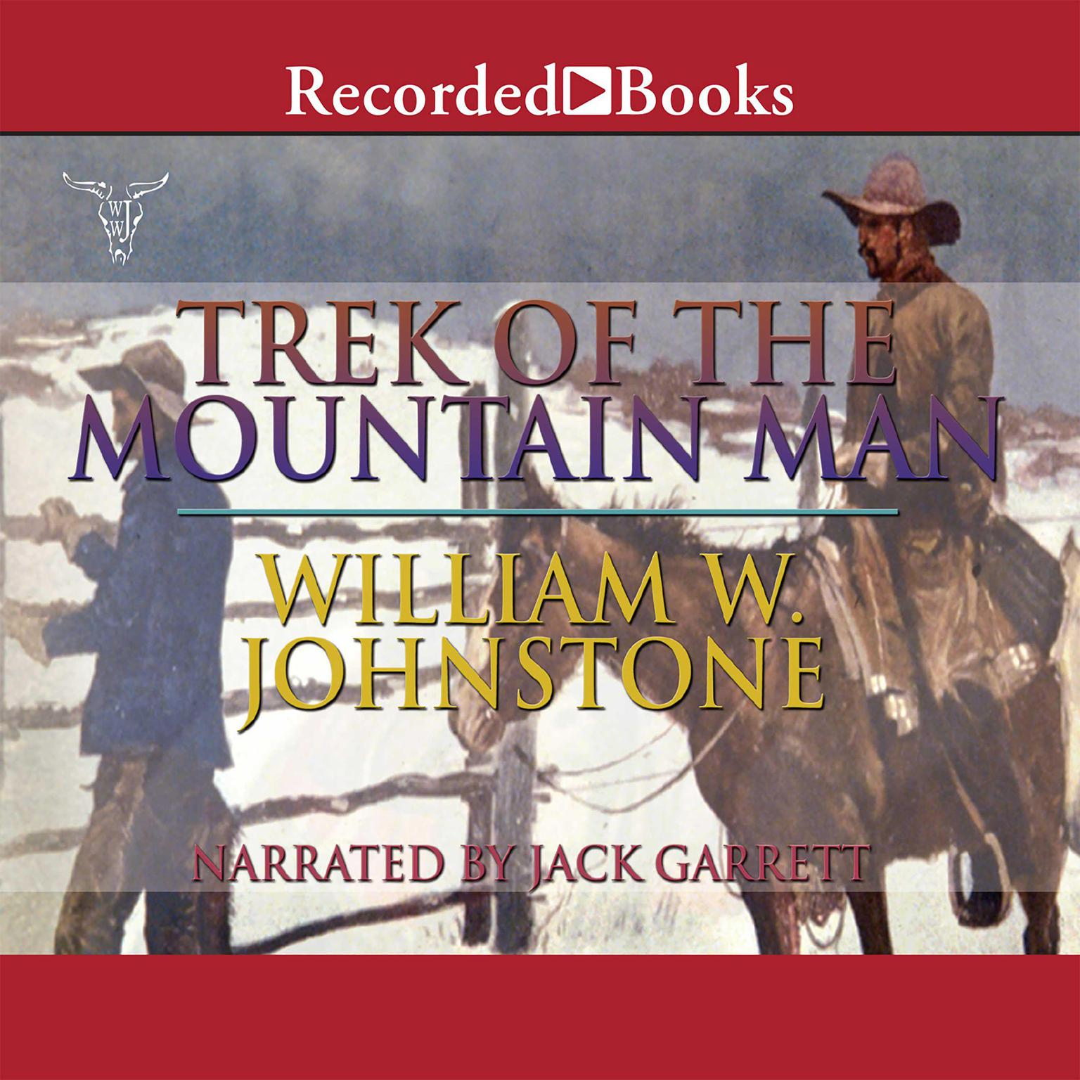 Printable Trek of the Mountain Man Audiobook Cover Art