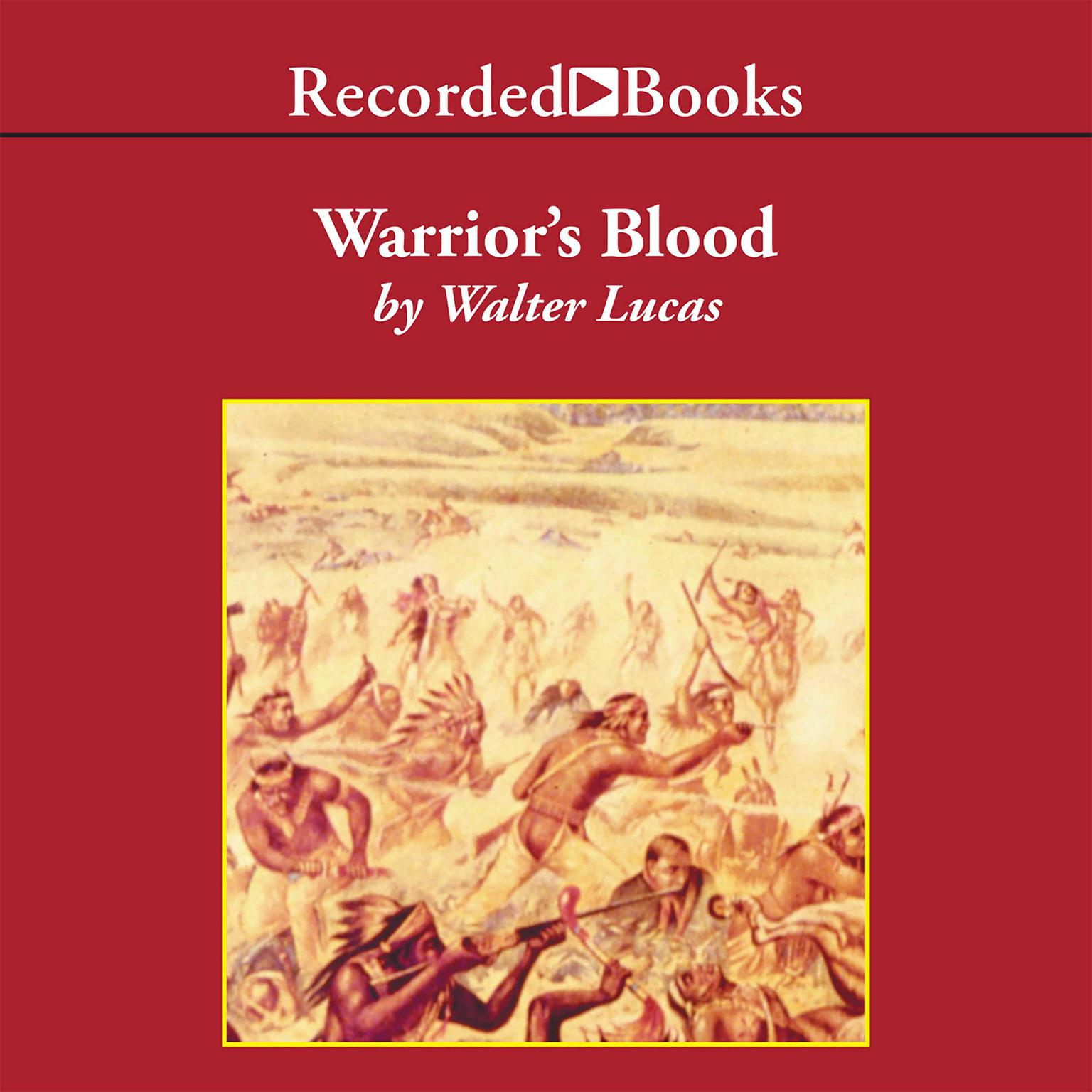 Printable Warrior's Blood Audiobook Cover Art