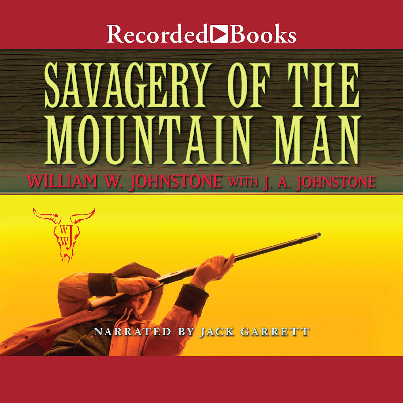 Printable Savagery of the Mountain Man Audiobook Cover Art