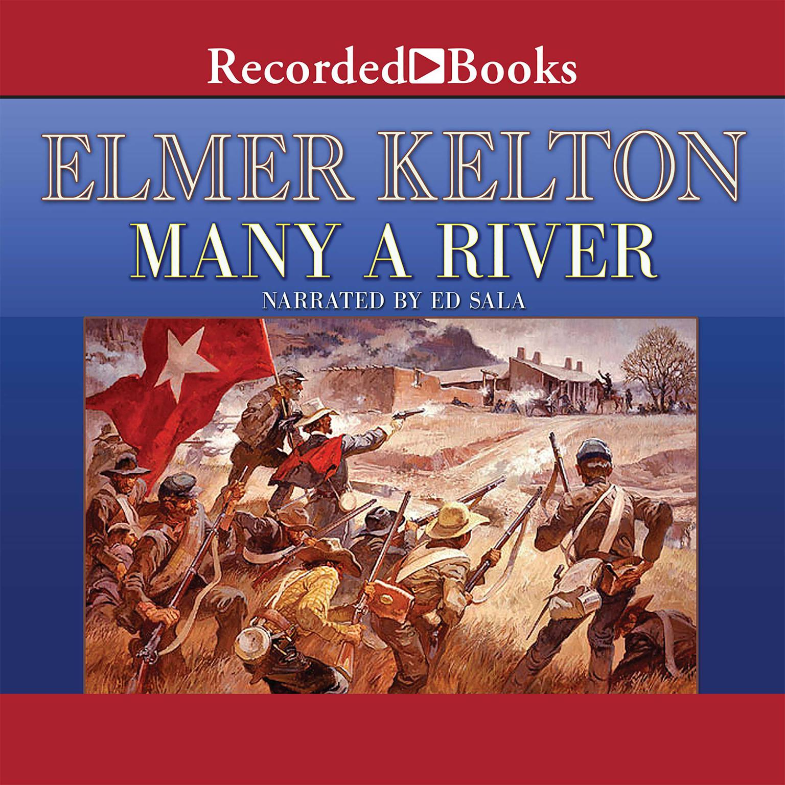 Printable Many a River Audiobook Cover Art