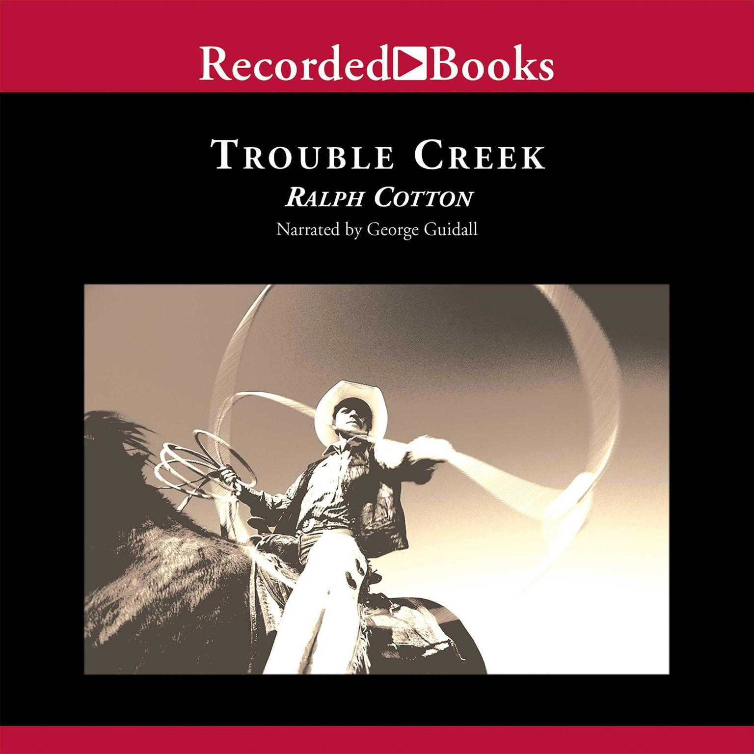 Printable Trouble Creek Audiobook Cover Art