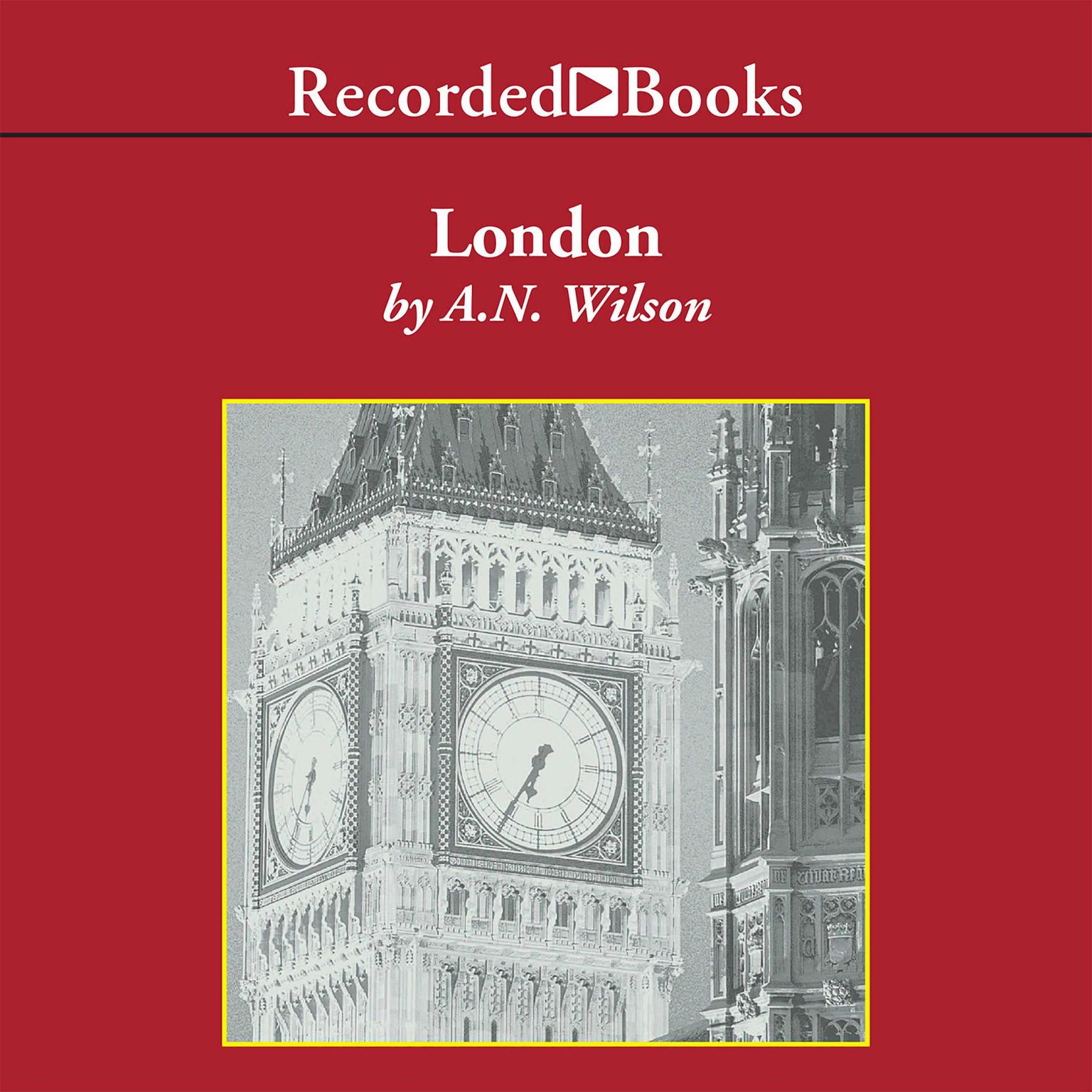 Printable London: A History Audiobook Cover Art
