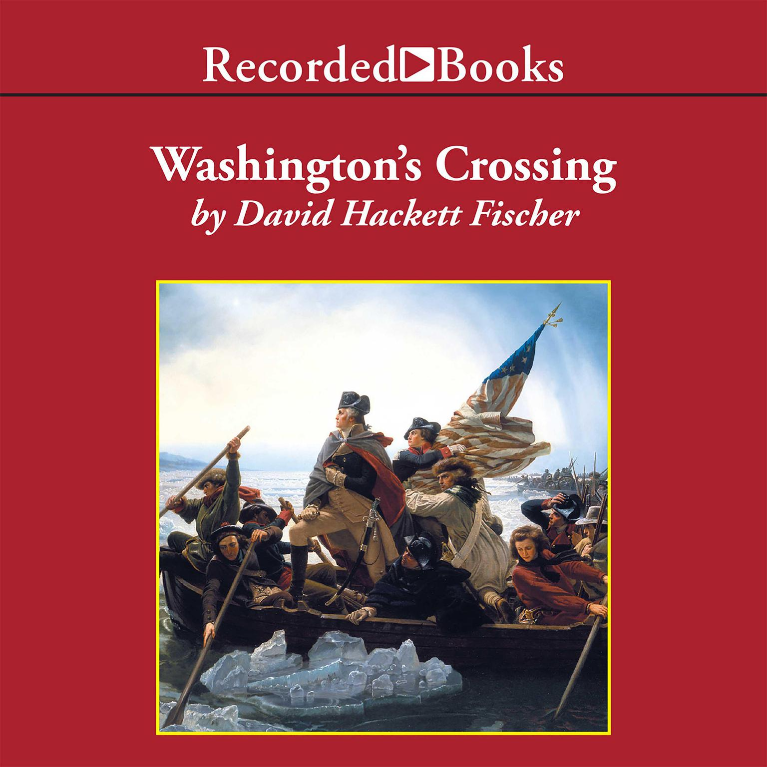 Printable Washington's Crossing Audiobook Cover Art