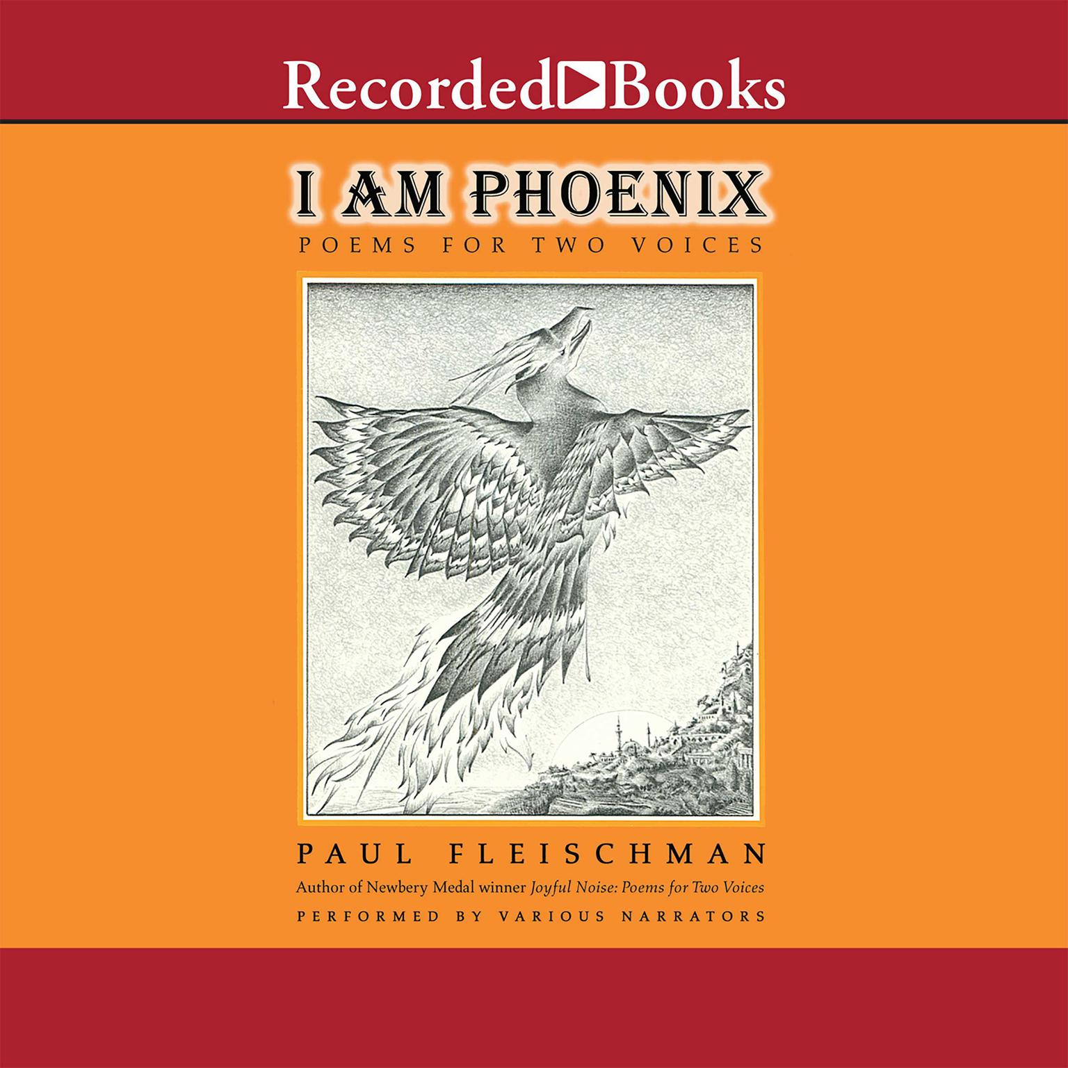 Printable I Am Phoenix: Poems for Two Voices Audiobook Cover Art