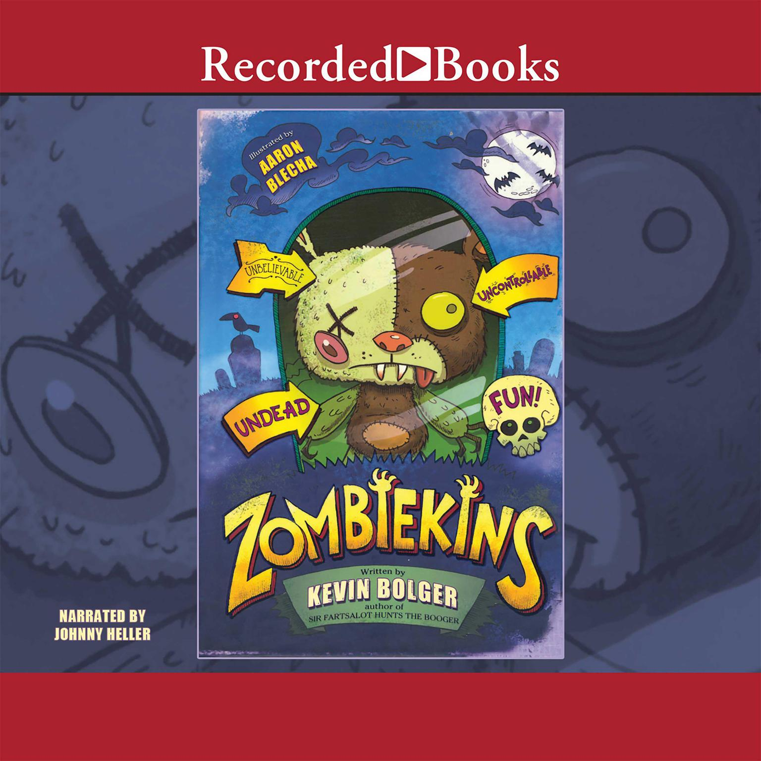 Printable Zombiekins Audiobook Cover Art