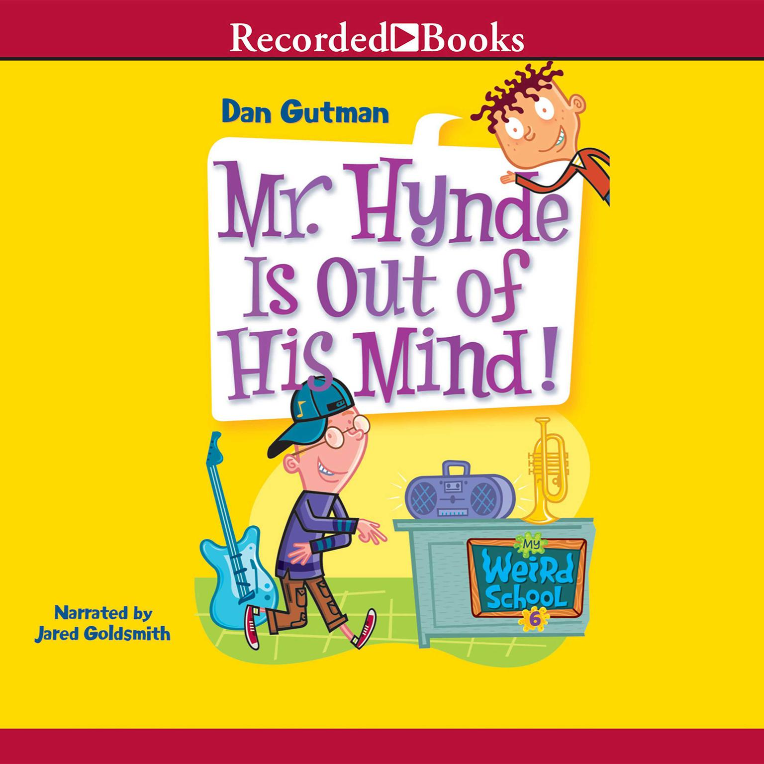 Printable Mr. Hynde Is Out of His Mind Audiobook Cover Art