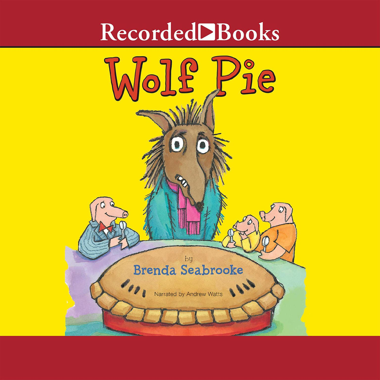 Printable Wolf Pie Audiobook Cover Art