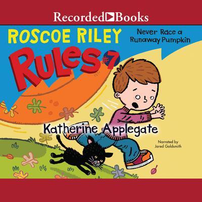 Never Race a Runaway Pumpkin Audiobook, by