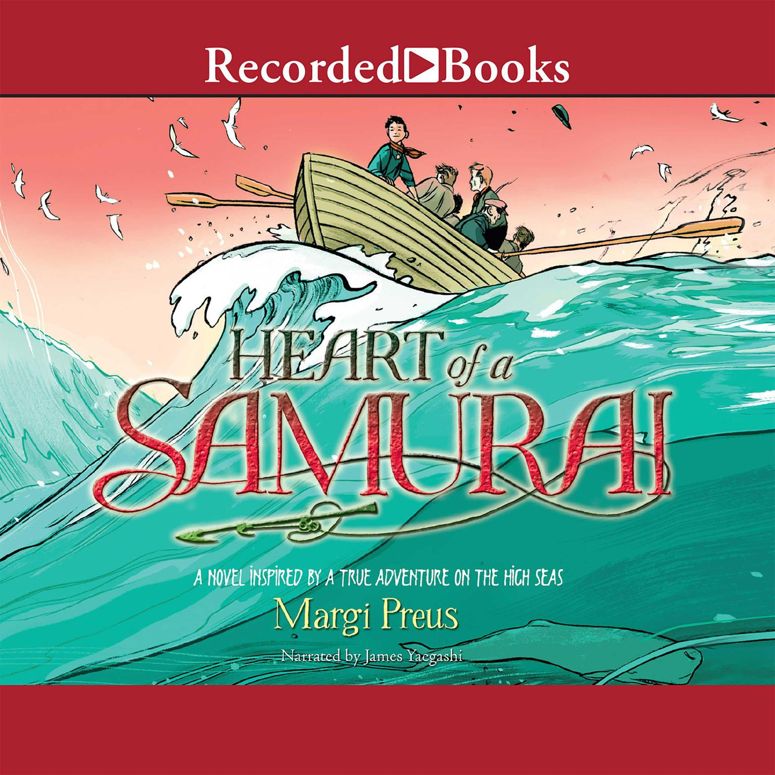 Printable Heart of a Samurai Audiobook Cover Art