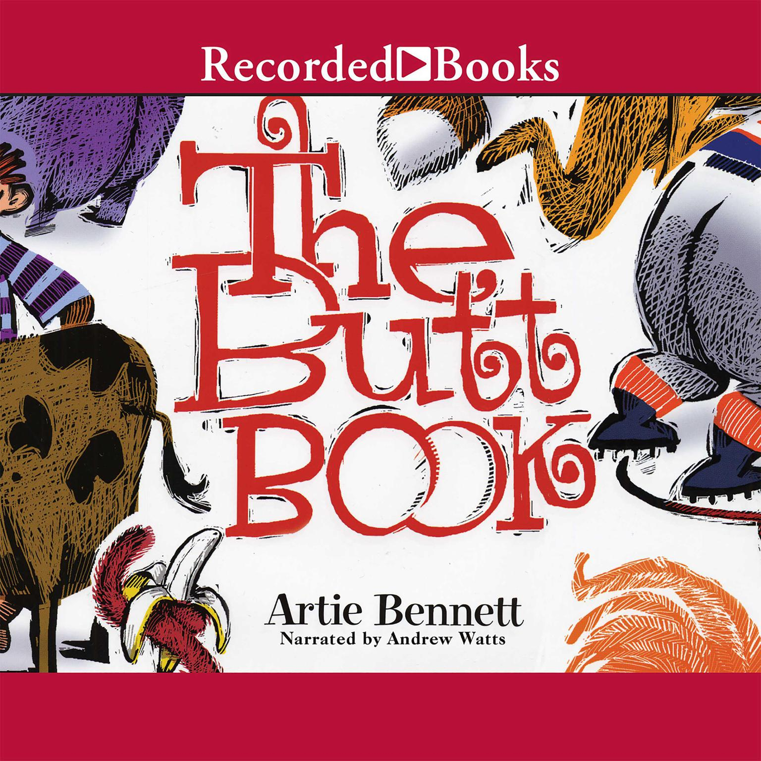 Printable The Butt Book Audiobook Cover Art