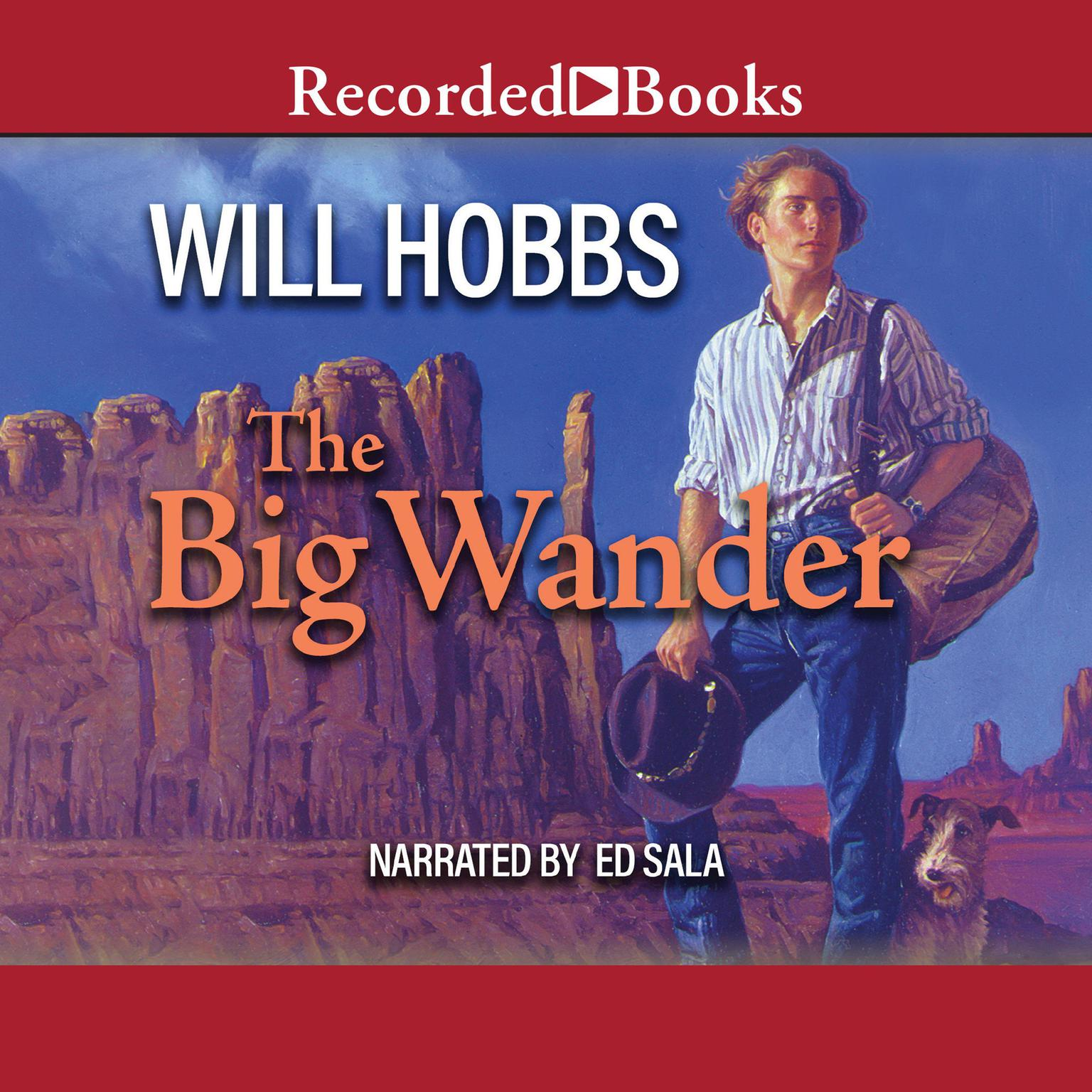 Printable The Big Wander Audiobook Cover Art