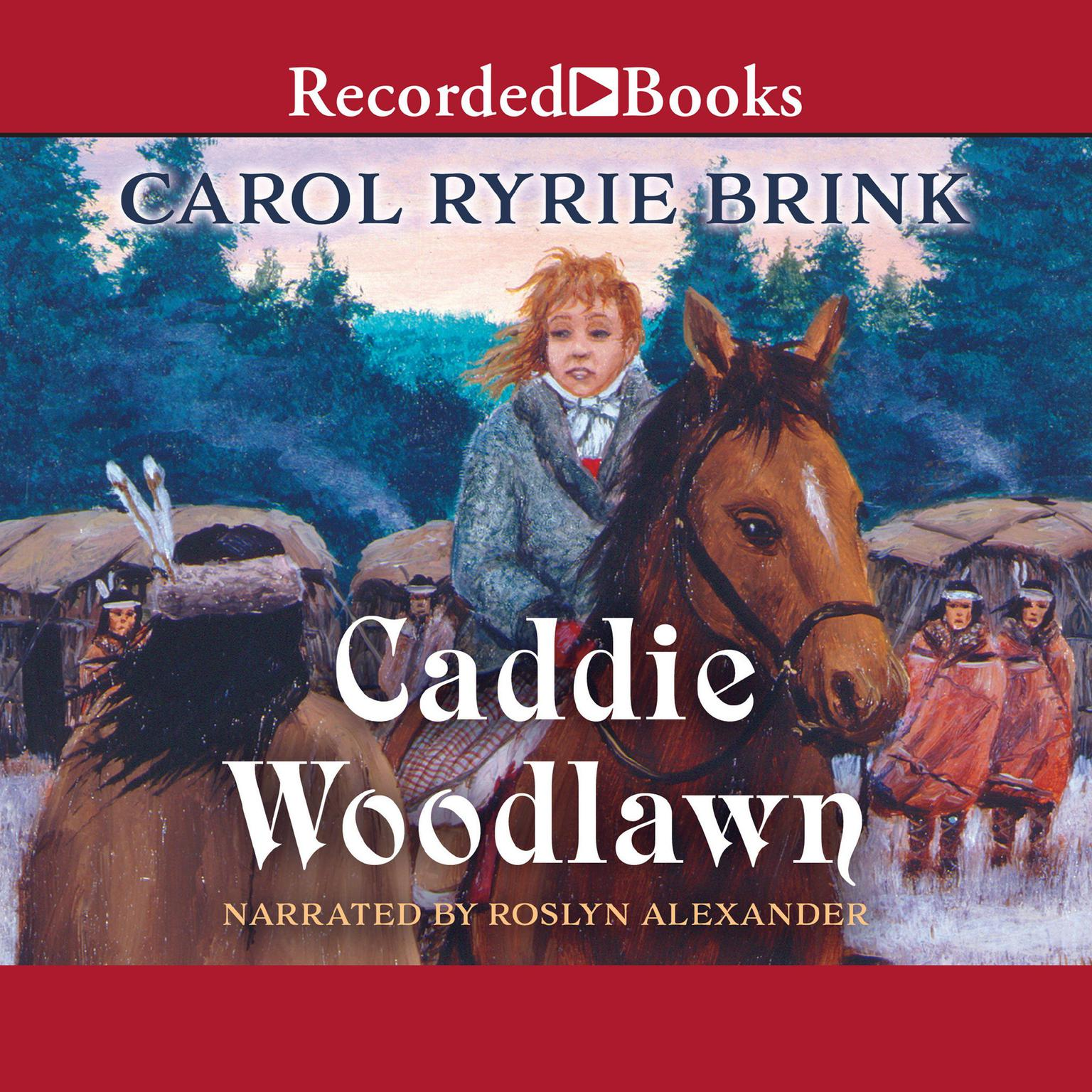 Printable Caddie Woodlawn Audiobook Cover Art