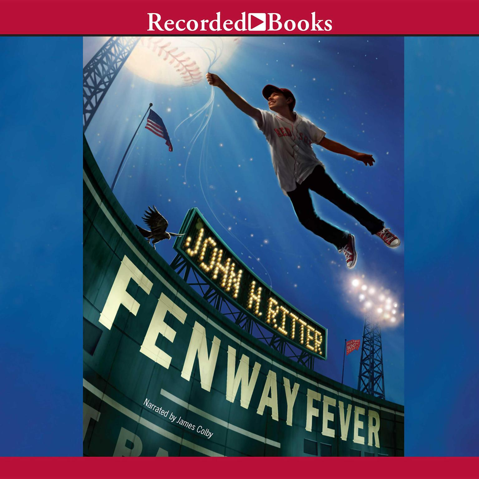 Printable Fenway Fever Audiobook Cover Art