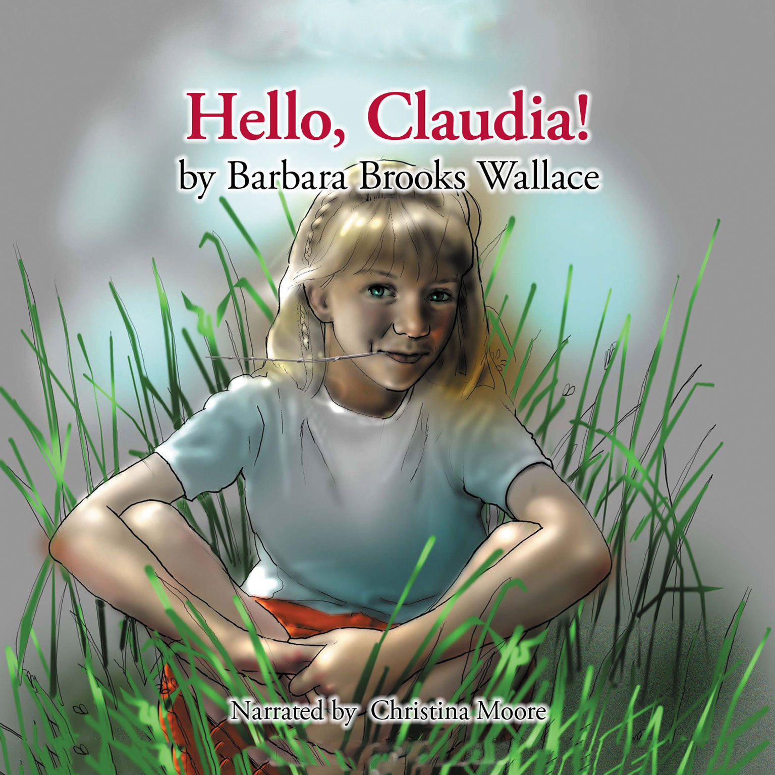 Printable Hello, Claudia! Audiobook Cover Art
