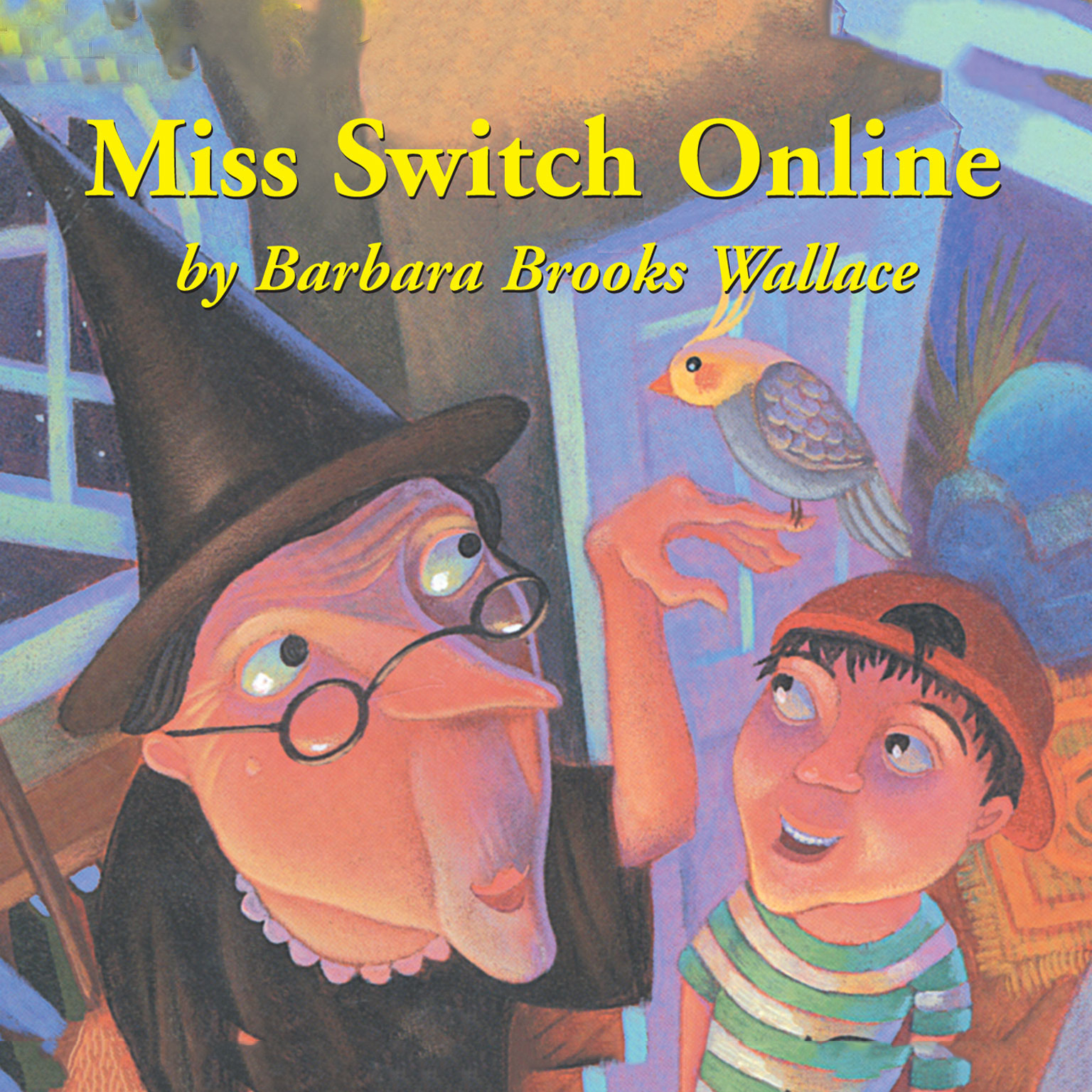 Printable Miss Switch Online Audiobook Cover Art