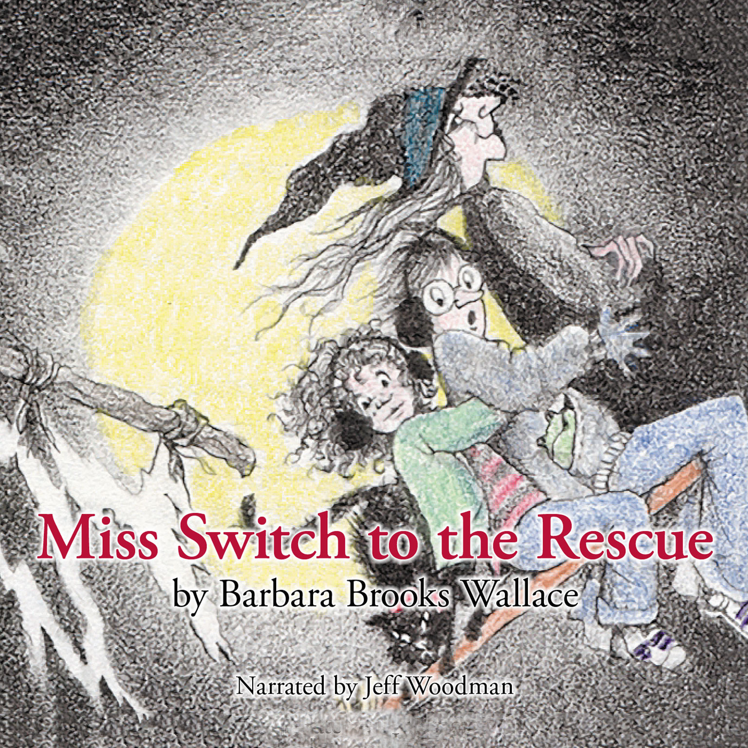 Printable Miss Switch to the Rescue Audiobook Cover Art