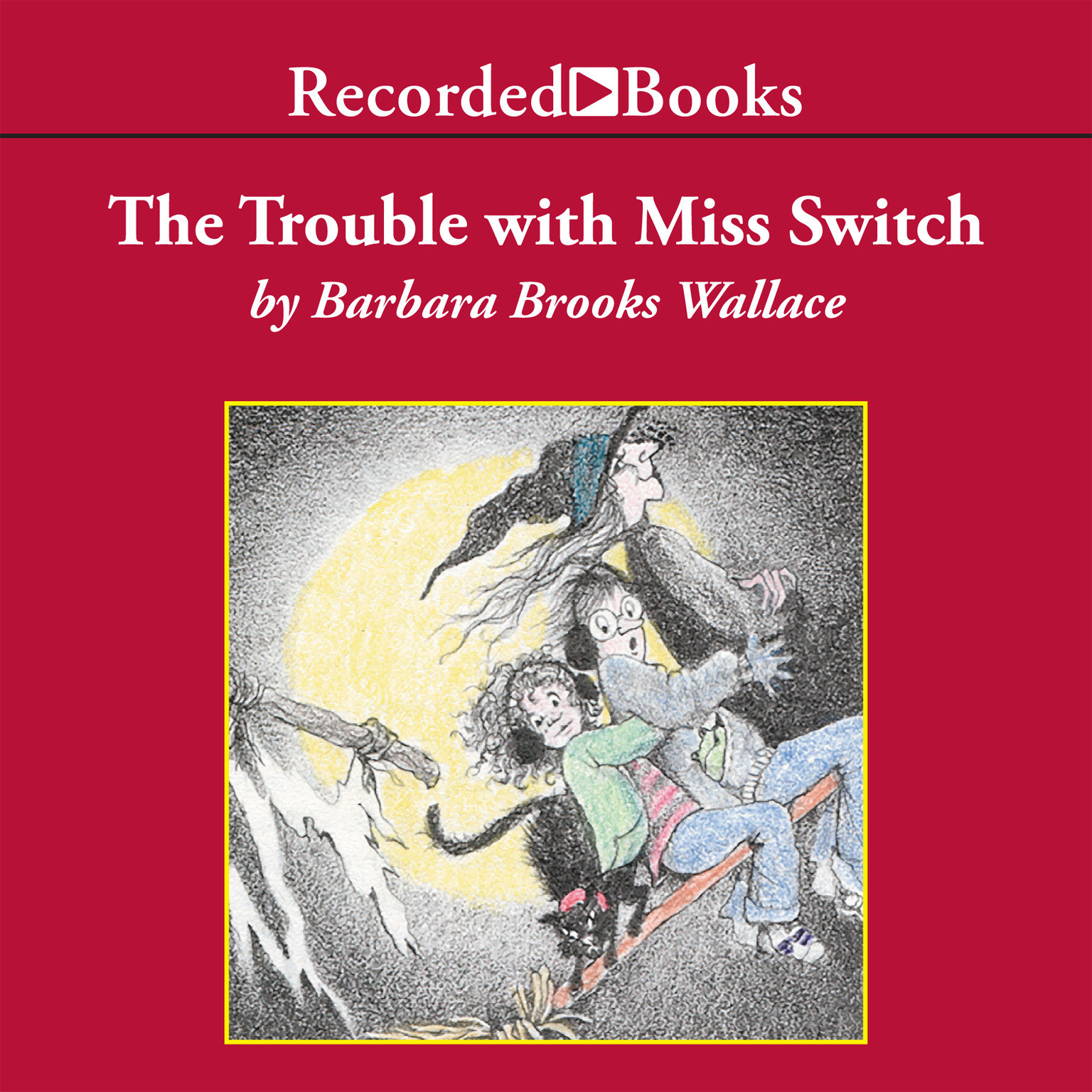 Printable The Trouble with Miss Switch Audiobook Cover Art