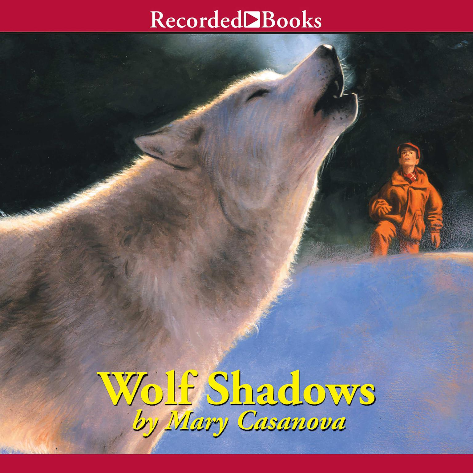 Printable Wolf Shadows Audiobook Cover Art