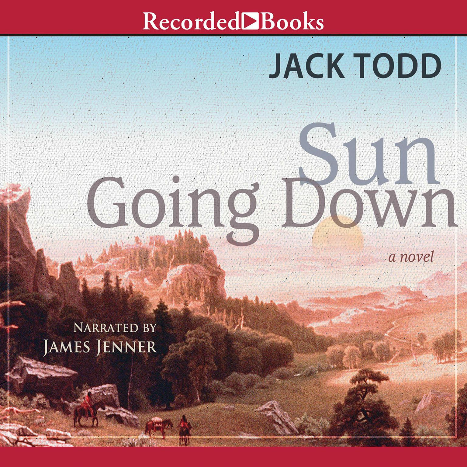 Printable Sun Going Down Audiobook Cover Art