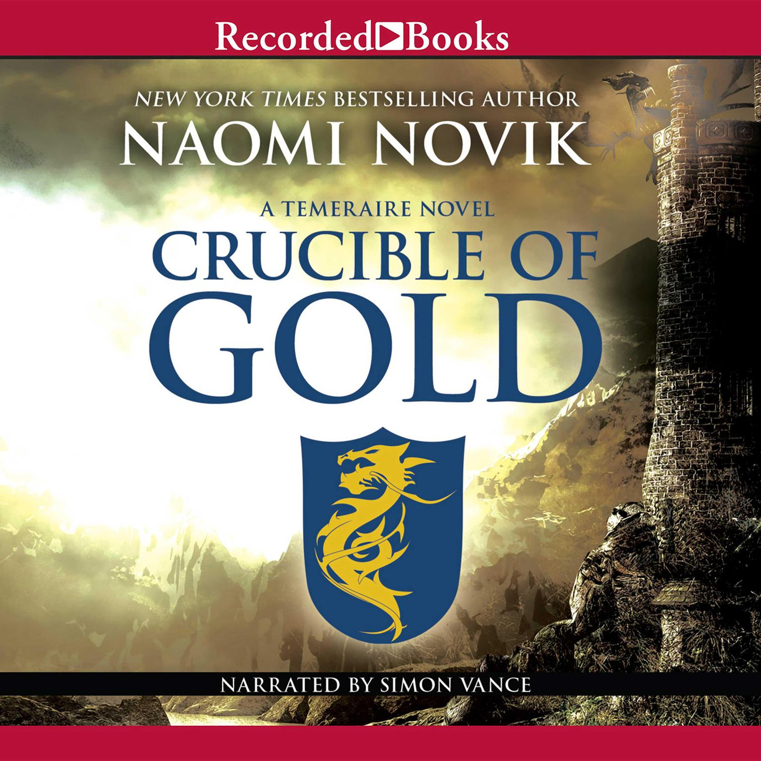 Printable Crucible of Gold Audiobook Cover Art