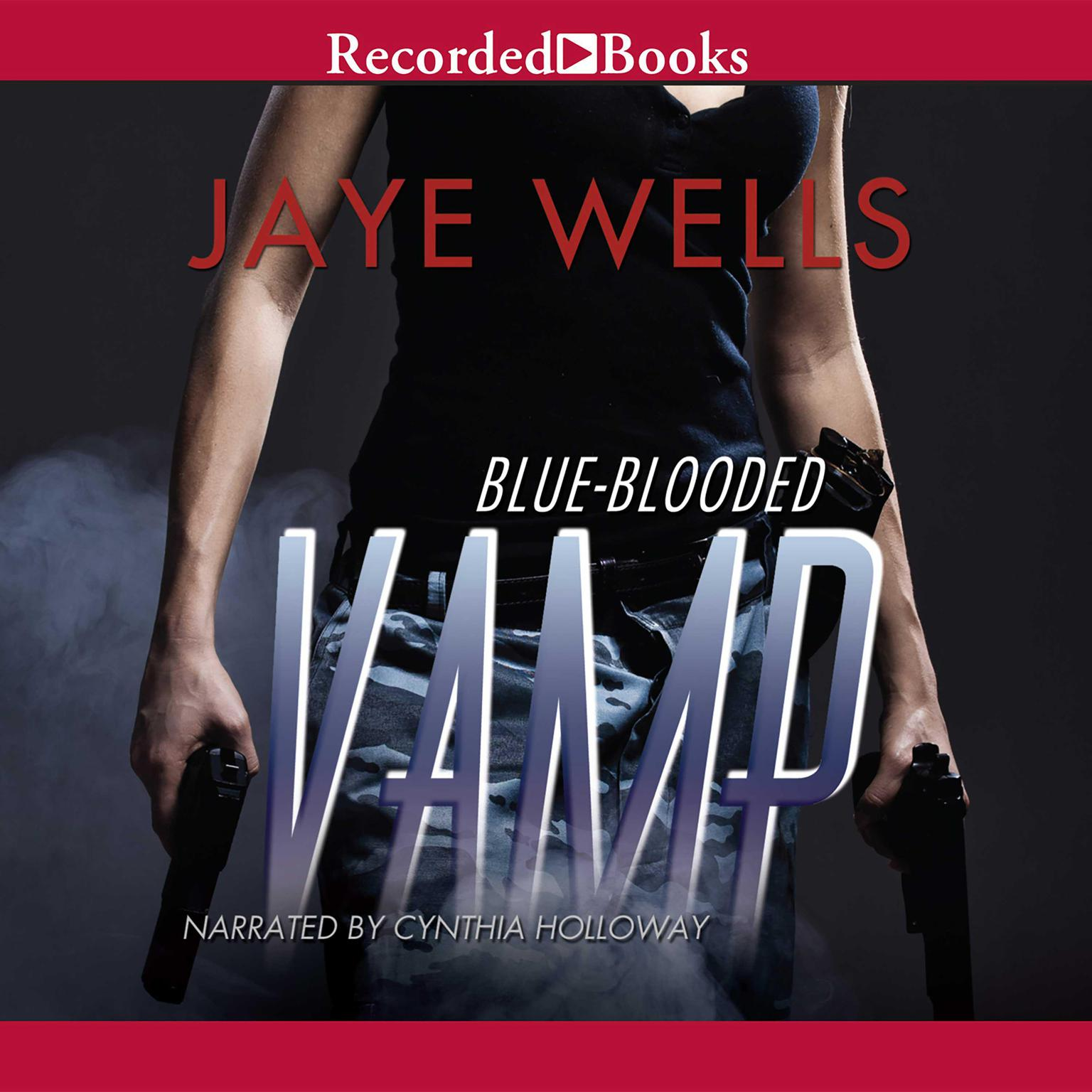 Printable Blue-Blooded Vamp Audiobook Cover Art