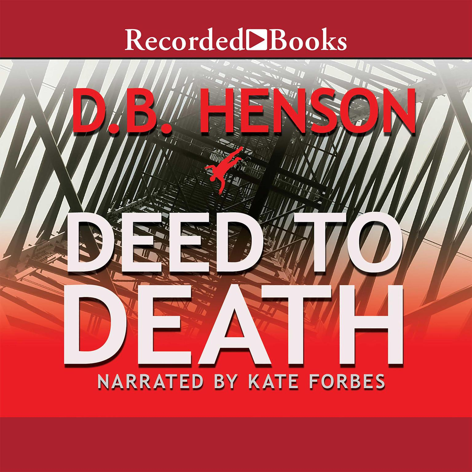 Printable Deed to Death Audiobook Cover Art