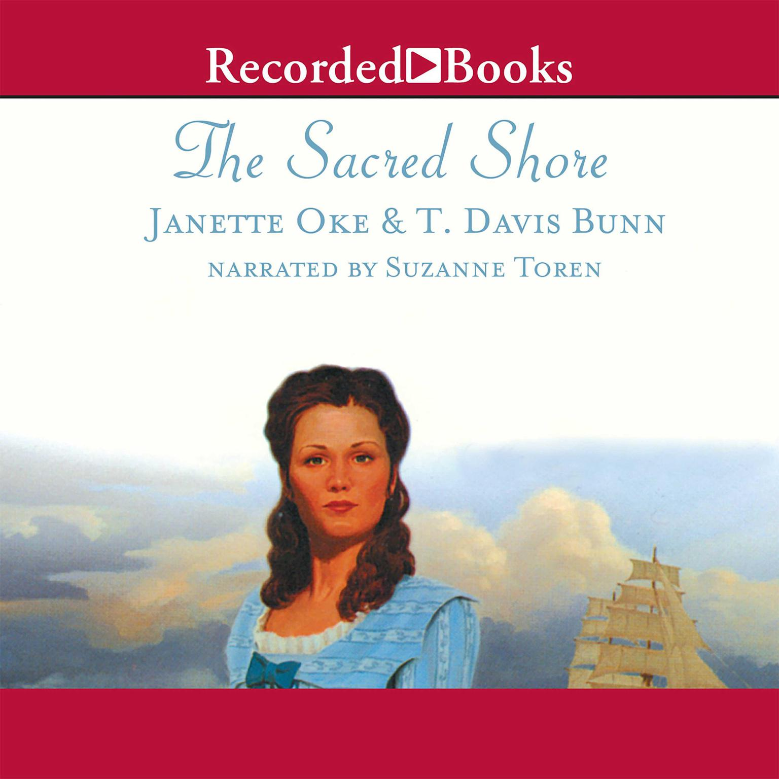 Printable The Sacred Shore Audiobook Cover Art