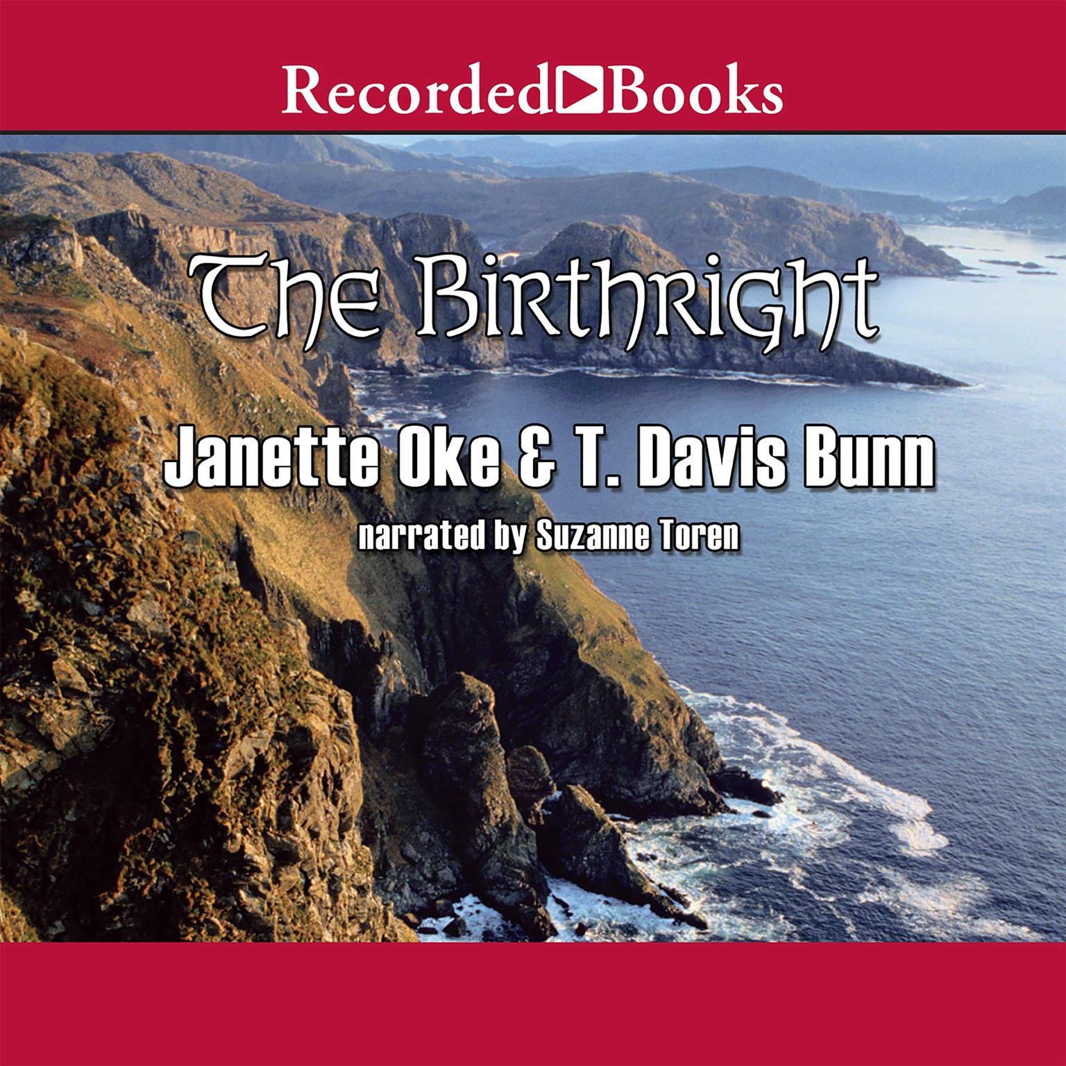 Printable The Birthright Audiobook Cover Art
