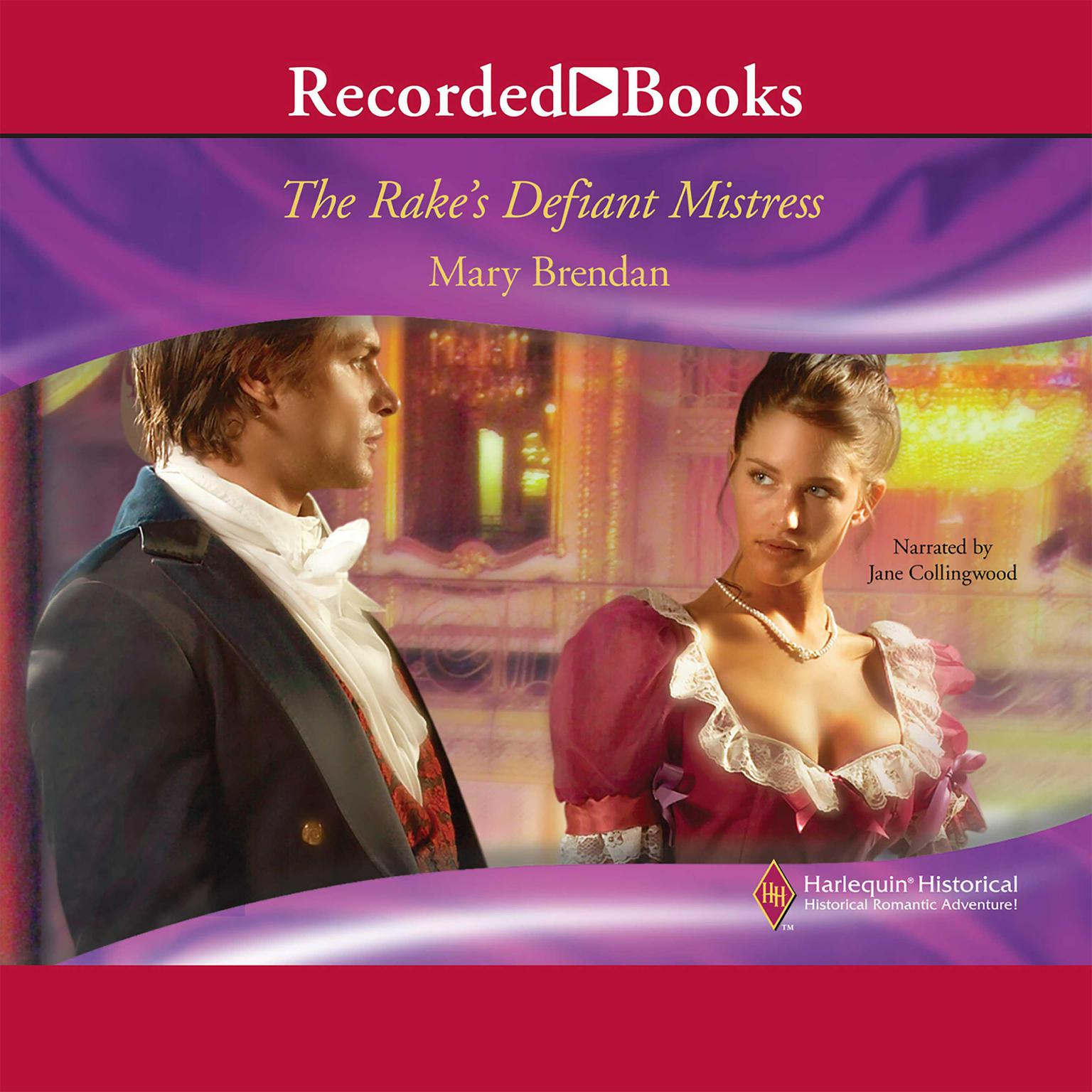 Printable The Rake's Defiant Mistress Audiobook Cover Art