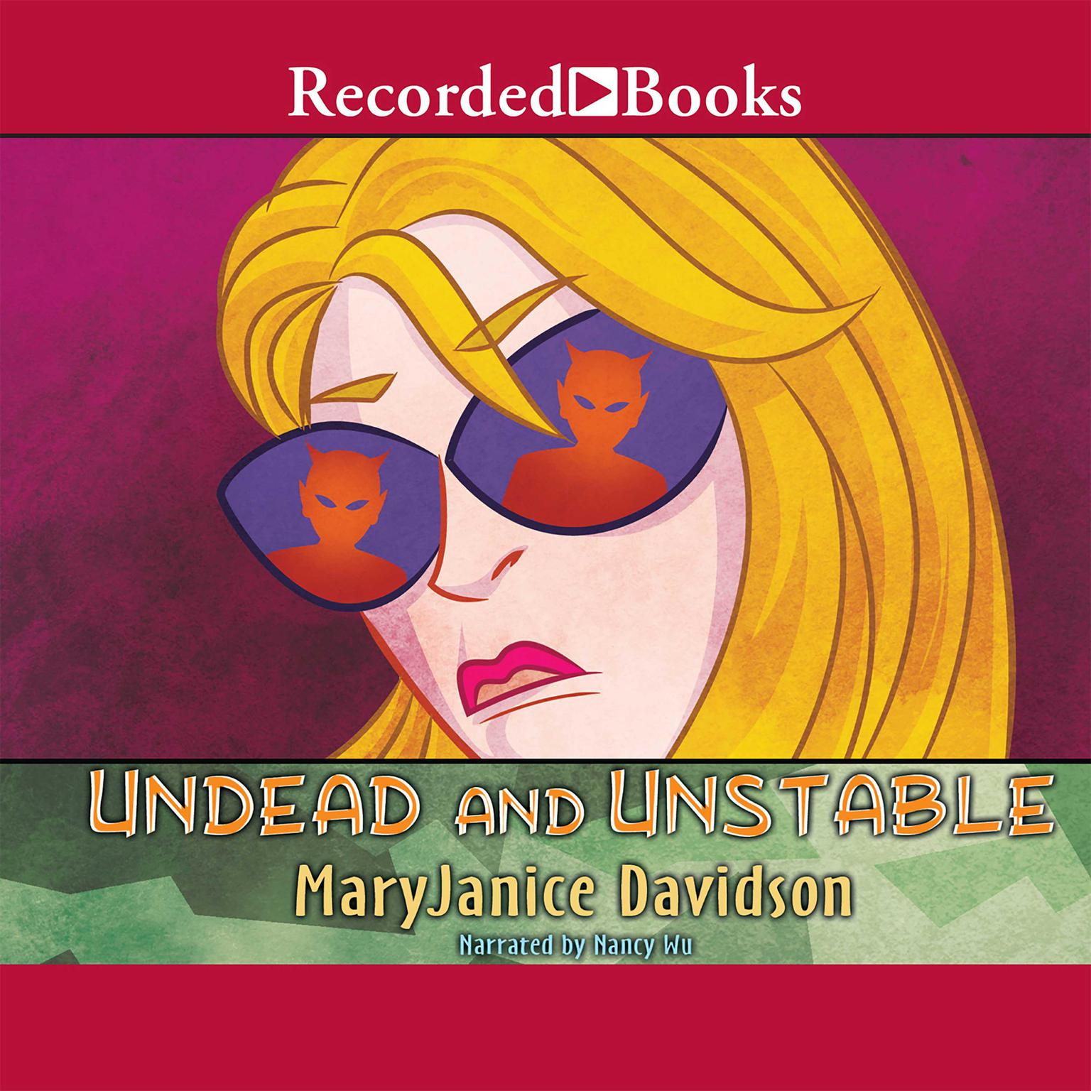 Printable Undead and Unstable Audiobook Cover Art