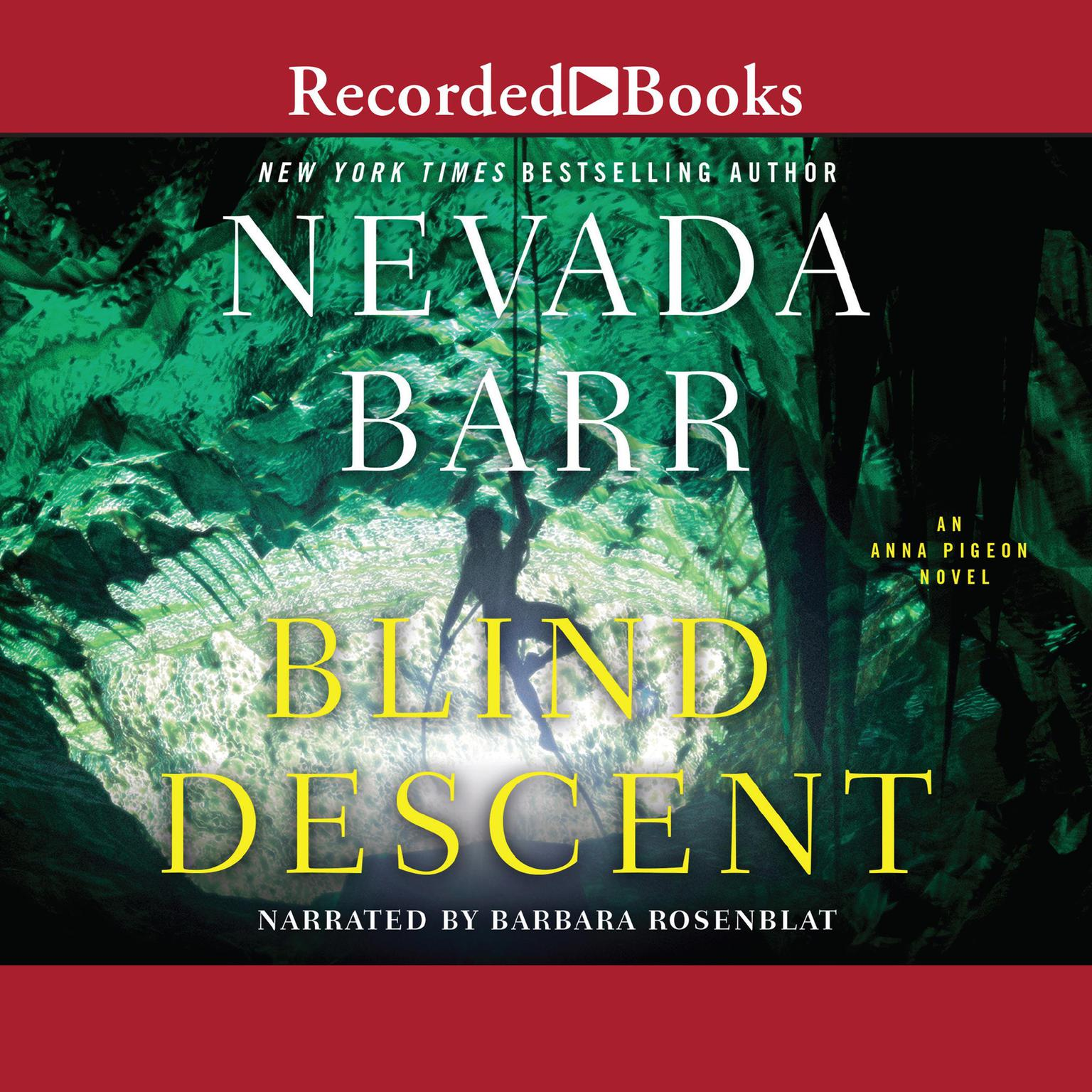 Printable Blind Descent Audiobook Cover Art