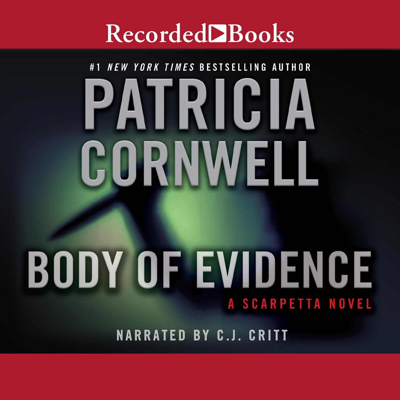 Printable Body of Evidence Audiobook Cover Art