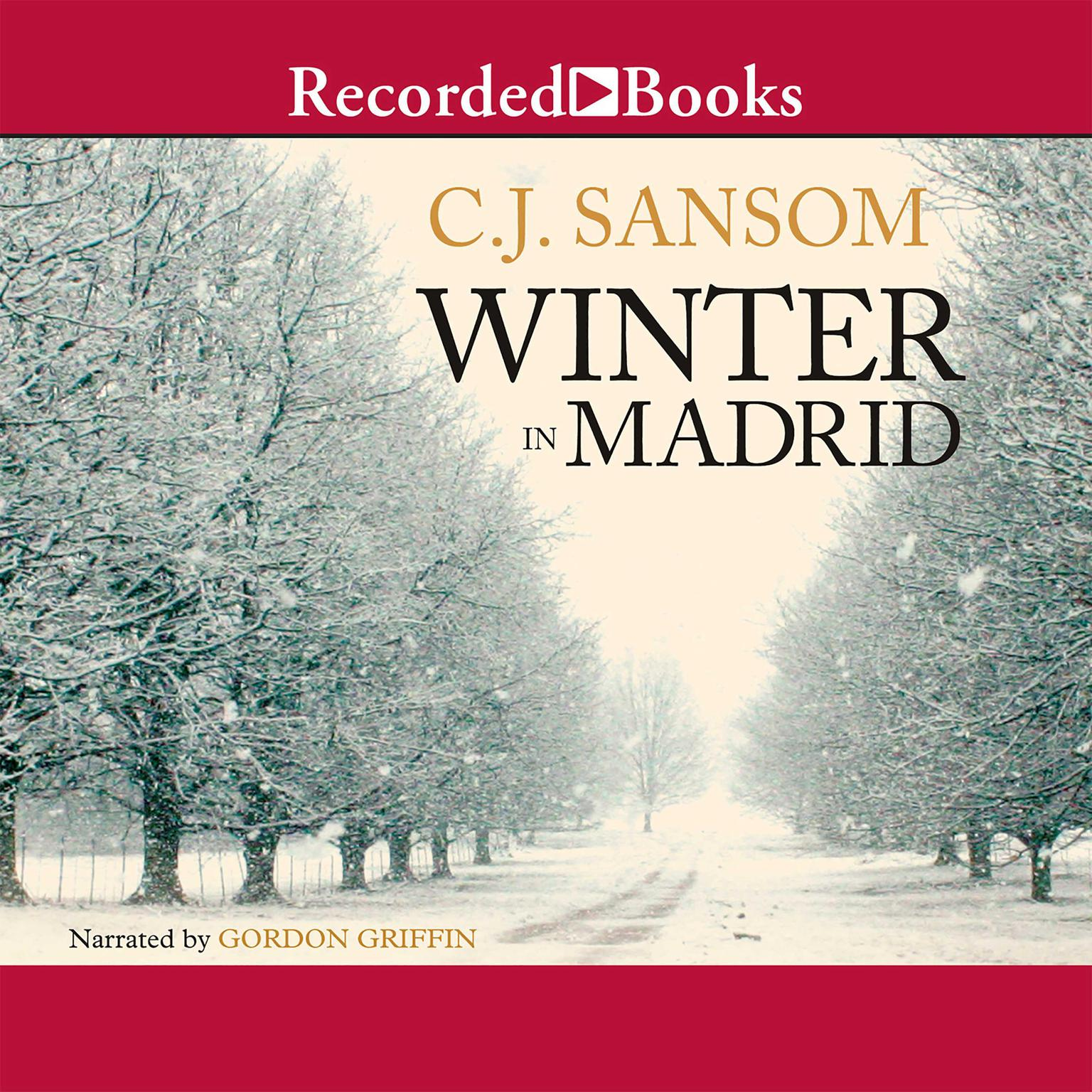 Printable Winter in Madrid Audiobook Cover Art