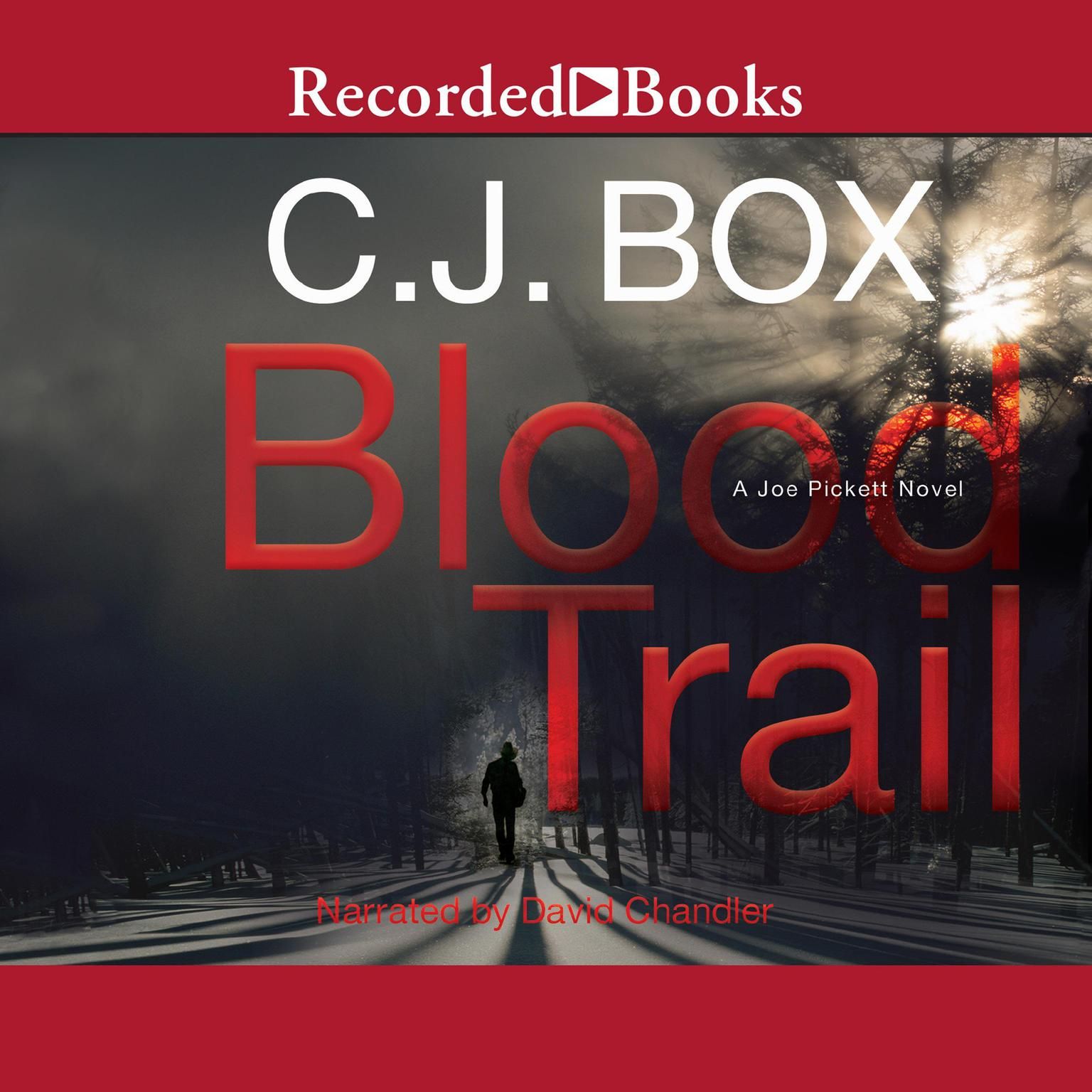 Printable Blood Trail Audiobook Cover Art