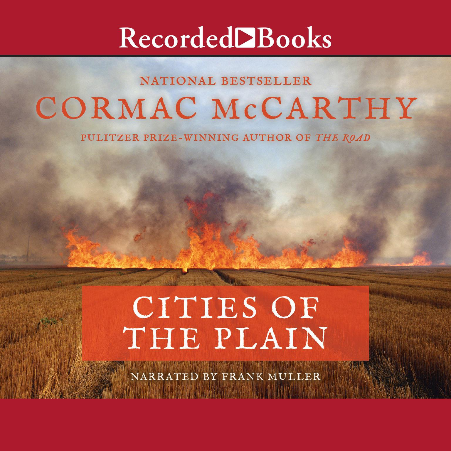 Printable Cities of the Plain Audiobook Cover Art
